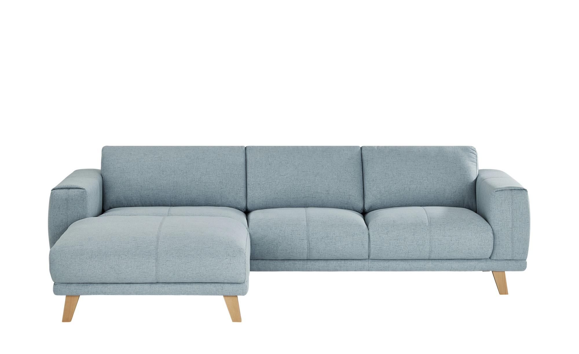 Ecksofa  Serena ¦ blau ¦ Maße (cm): H: 82 Polstermöbel > Sofas > Ecksofas - Höffner