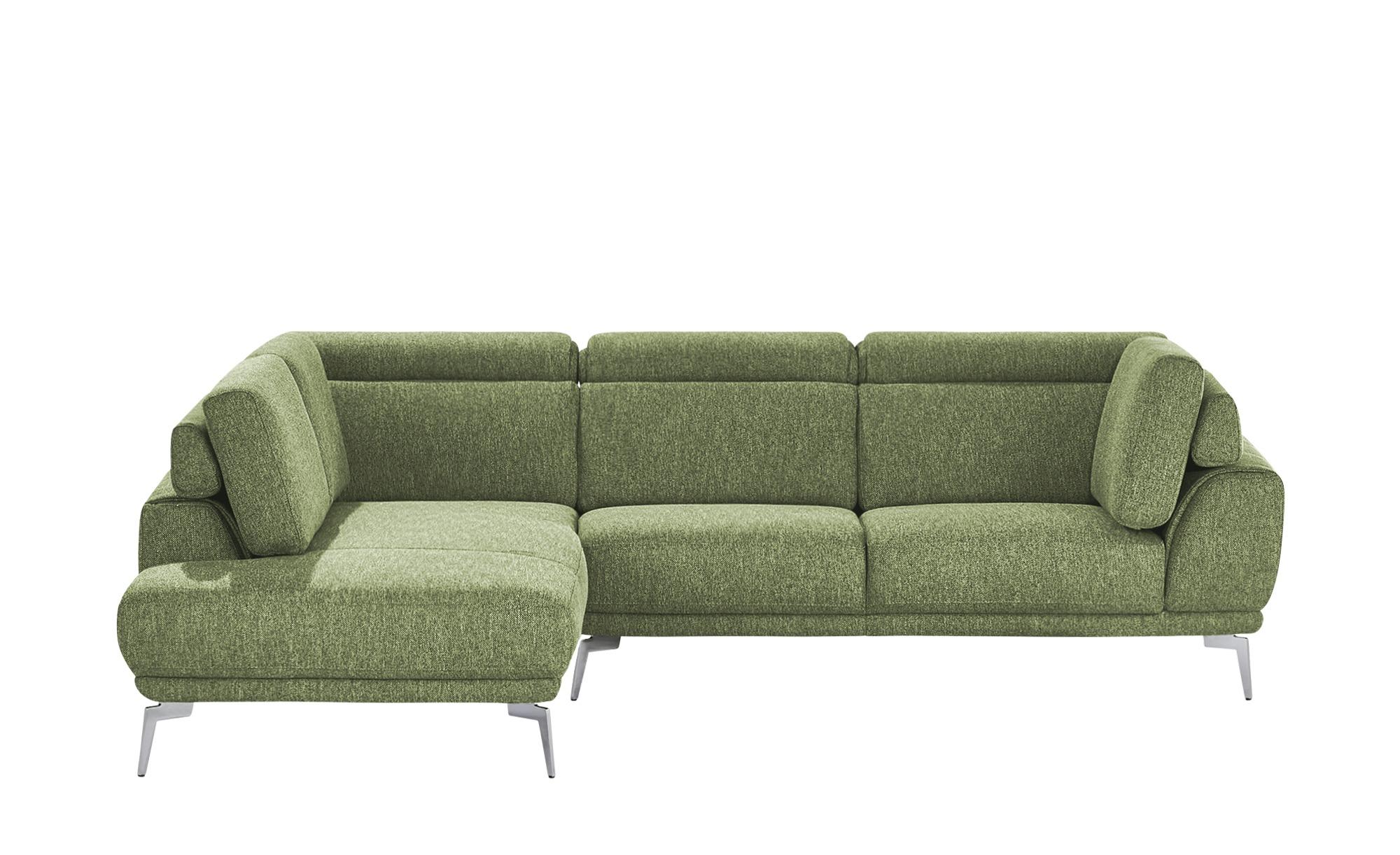 Ecksofa  Sona ¦ grün ¦ Maße (cm): H: 83 Polstermöbel > Sofas > Ecksofas - Höffner