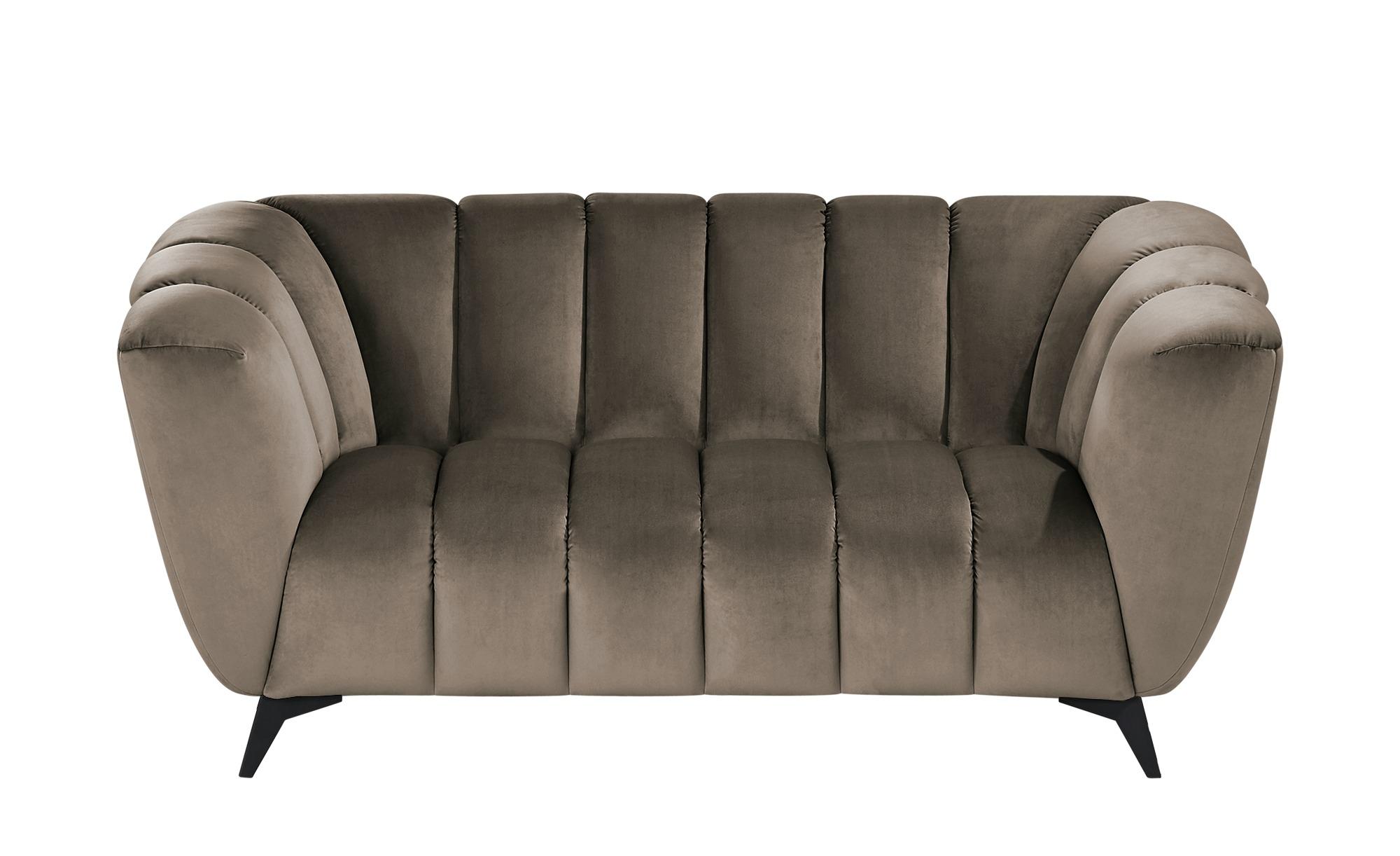 Sofa  Samantha ¦ braun ¦ Maße (cm): B: 180 H: 86 T: 100 Polstermöbel > Sofas > 2-Sitzer - Höffner