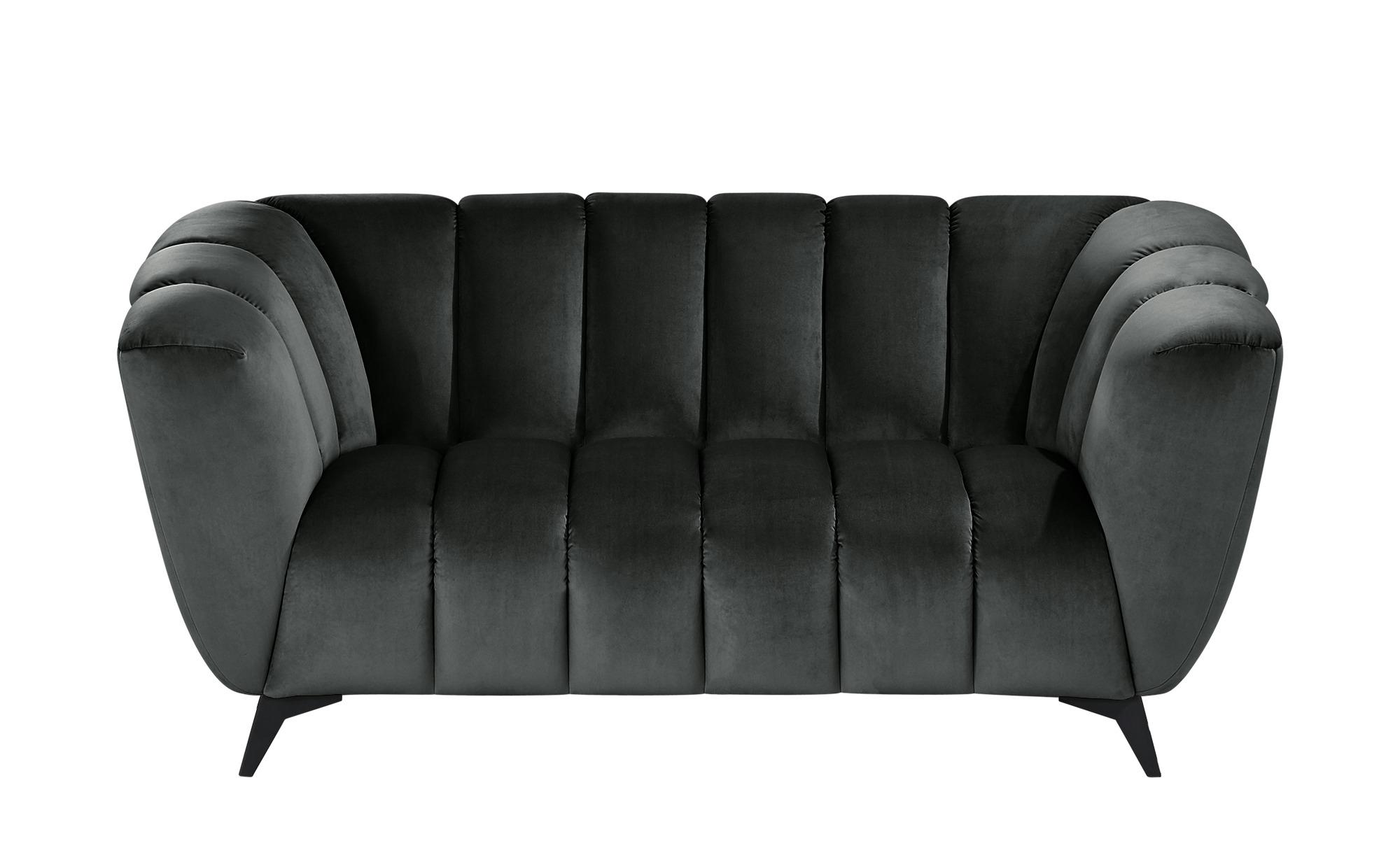 Sofa  Samantha ¦ grau ¦ Maße (cm): B: 180 H: 86 T: 100 Polstermöbel > Sofas > 2-Sitzer - Höffner