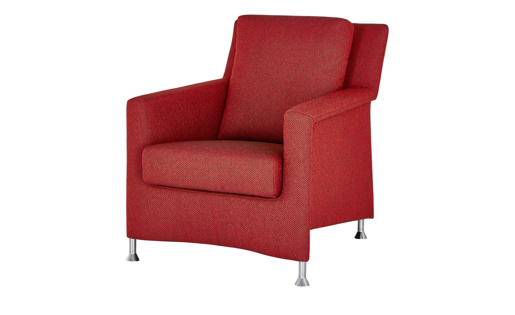 Sessel  Paian ¦ rot ¦ Maße (cm): B: 74 H: 87 T: 91 Polstermöbel > Sessel > Polstersessel - Höffner