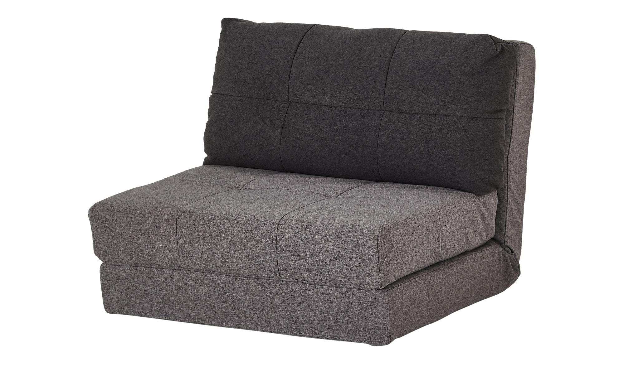 Schlafsessel  Becky ¦ grau ¦ Maße (cm): B: 90 H: 72 T: 80 Polstermöbel > Sessel > Schlafsessel - Höffner