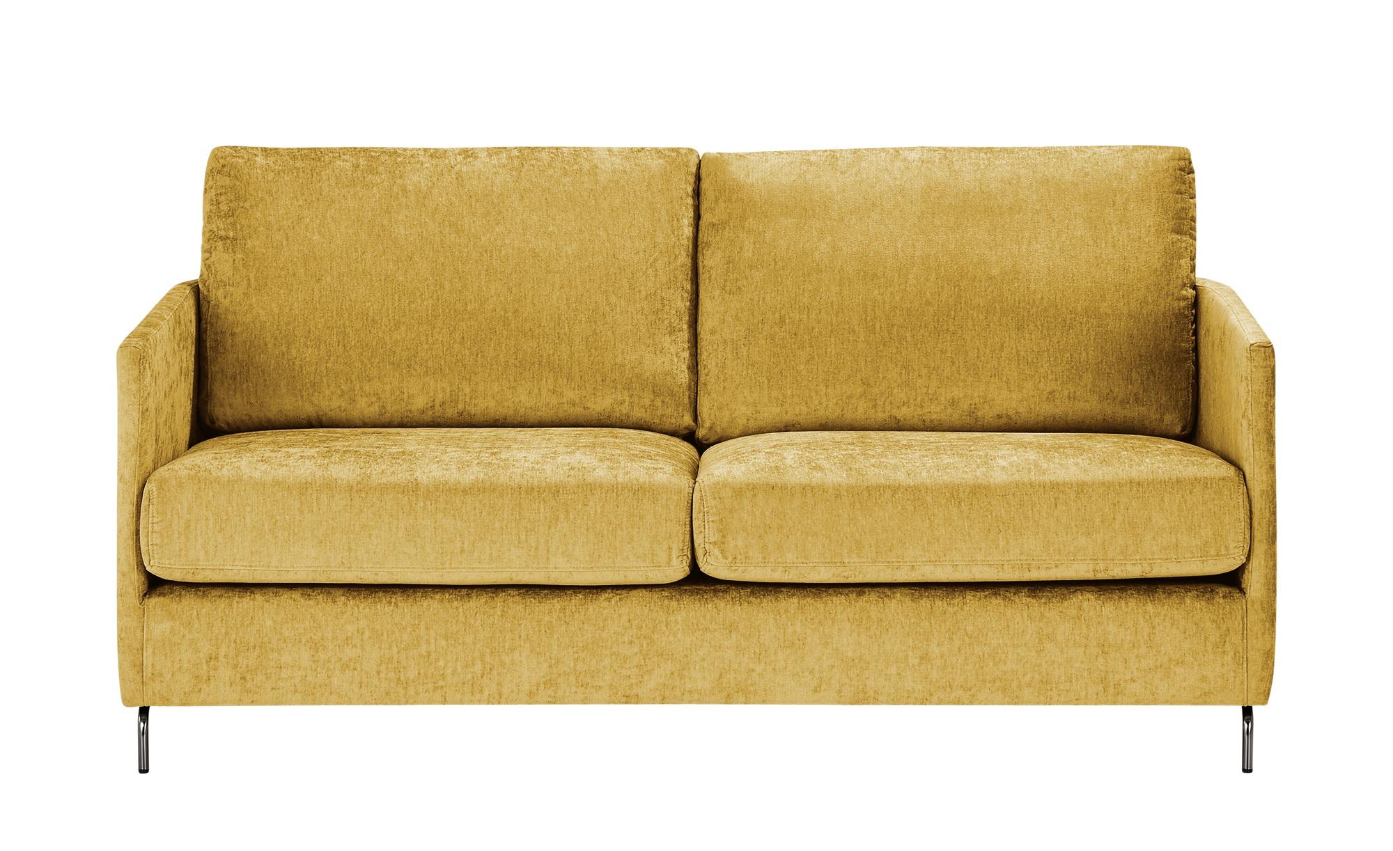 SOHO Sofa  Harriet Day ¦ gelb ¦ Maße (cm): B: 167 H: 78 T: 97 Polstermöbel > Sofas > 2-Sitzer - Höffner