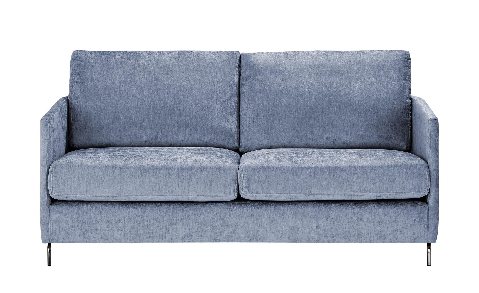 SOHO Sofa  Harriet Day ¦ blau ¦ Maße (cm): B: 167 H: 78 T: 97 Polstermöbel > Sofas > 2-Sitzer - Höffner