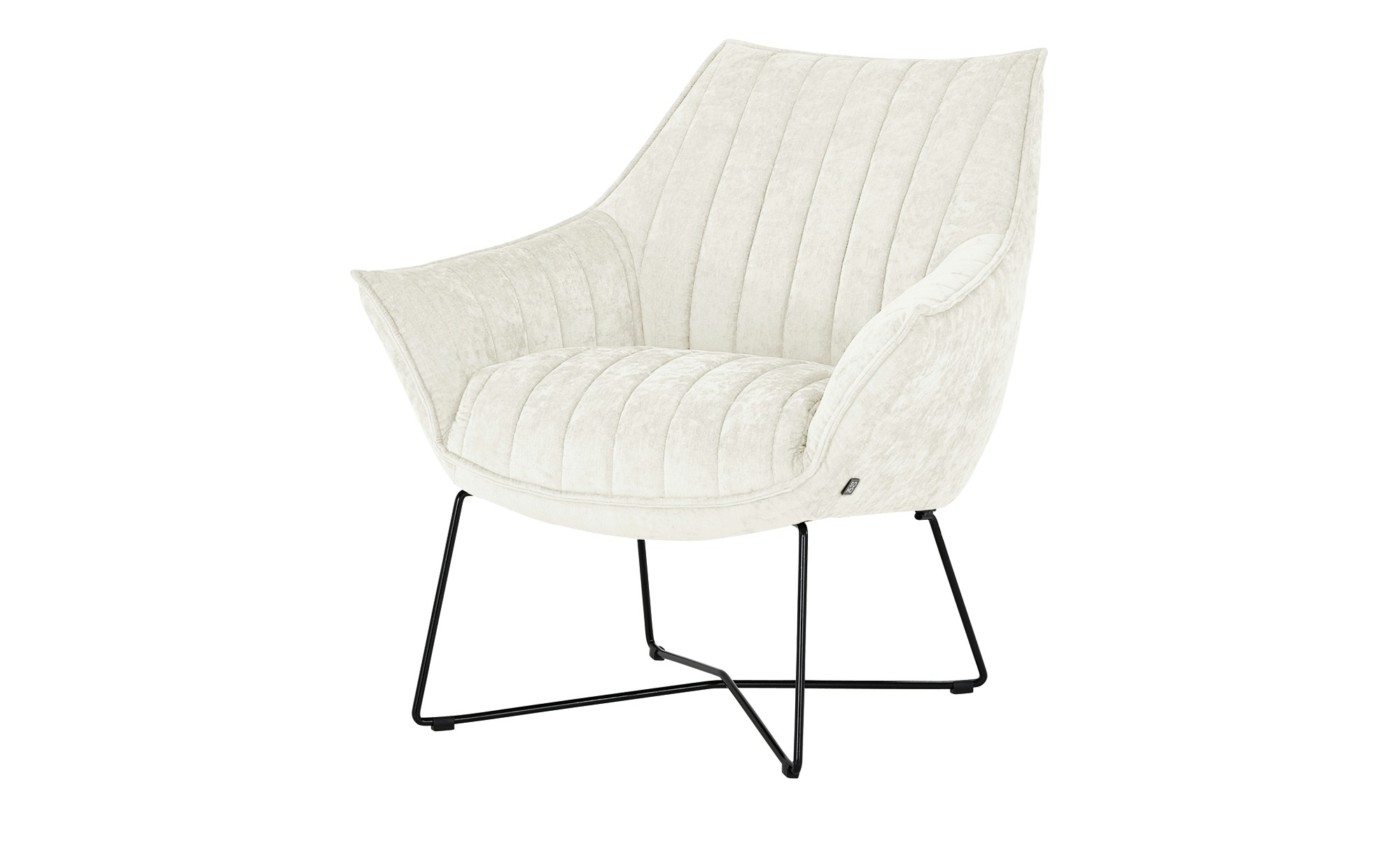 SOHO Sessel  Egeria ¦ creme ¦ Maße (cm): B: 86 H: 80 T: 83 Polstermöbel > Sessel > Polstersessel - Höffner