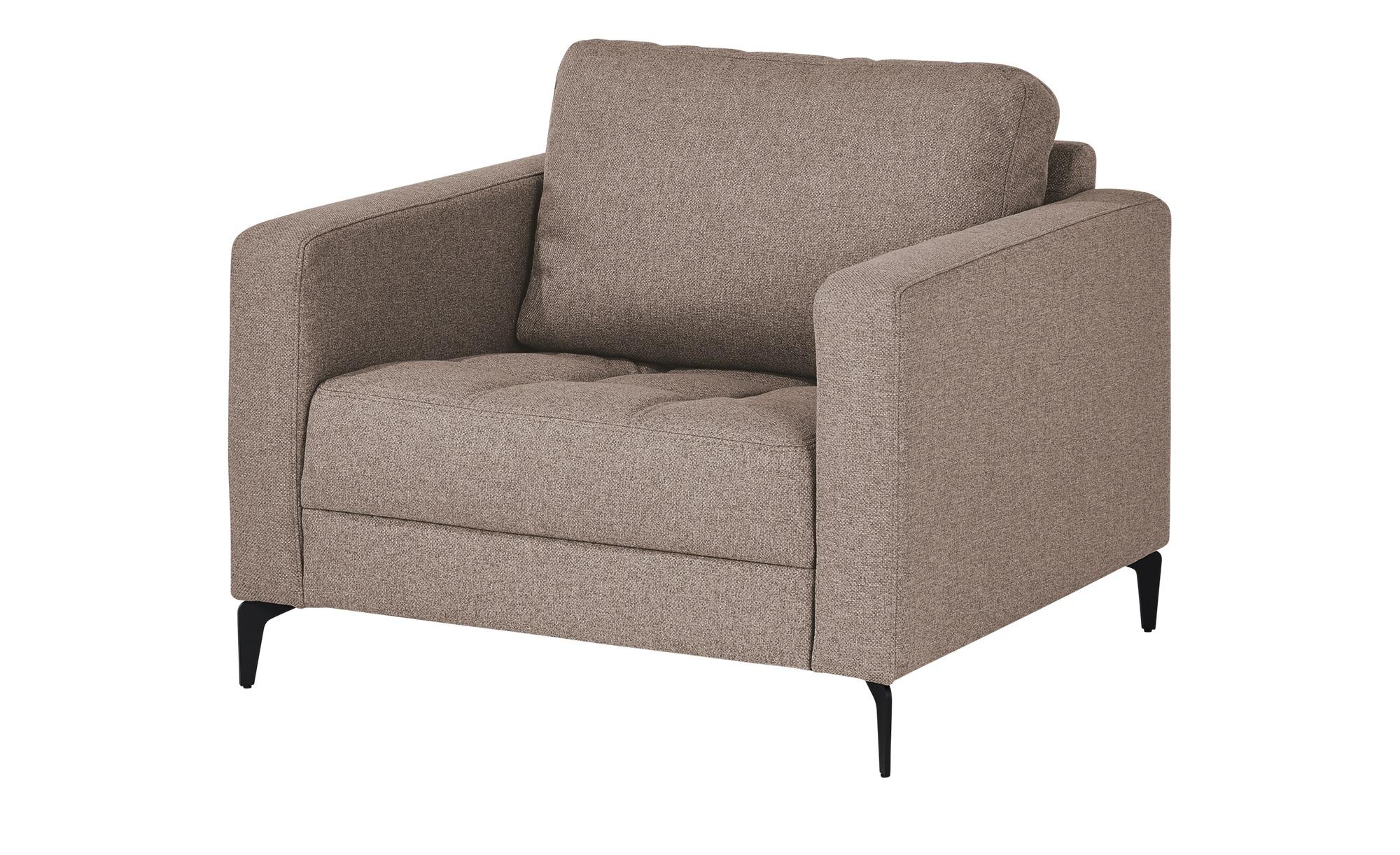 smart Sessel  Gesa ¦ braun ¦ Maße (cm): B: 102 H: 83 T: 91 Polstermöbel > Sessel > Polstersessel - Höffner