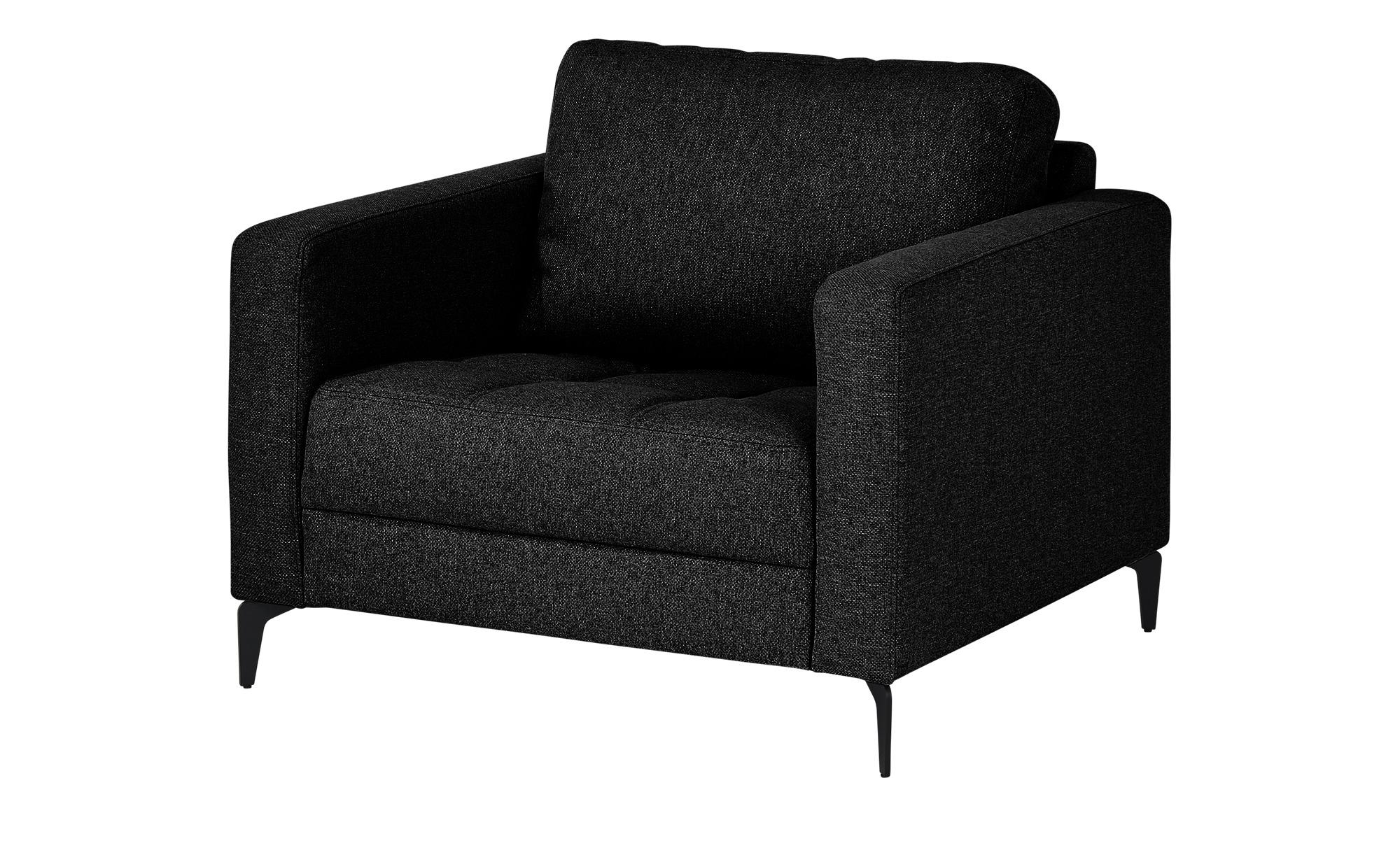 smart Sessel  Gesa ¦ schwarz ¦ Maße (cm): B: 102 H: 83 T: 91 Polstermöbel > Sessel > Polstersessel - Höffner