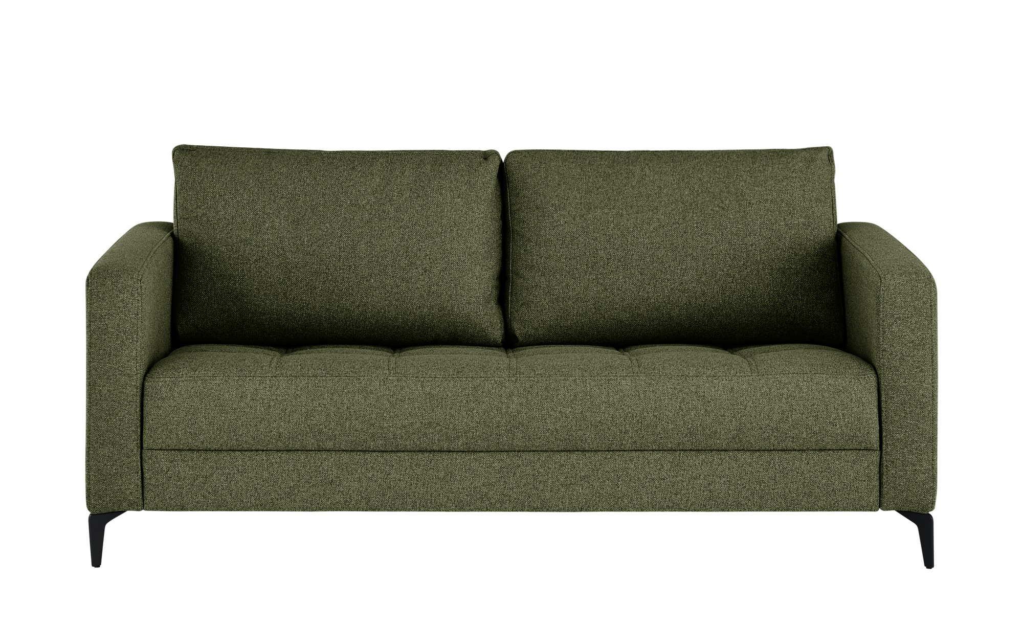 smart Sofa  Gesa ¦ grün ¦ Maße (cm): B: 178 H: 83 T: 91 Polstermöbel > Sofas > 2-Sitzer - Höffner
