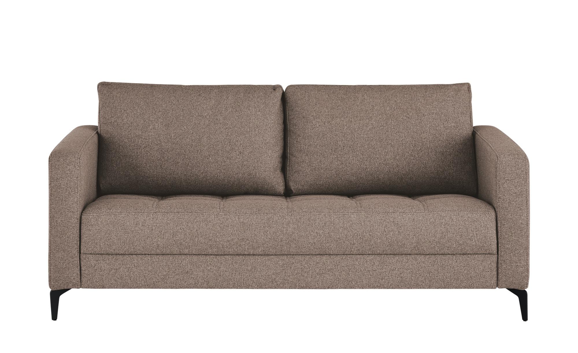 smart Sofa  Gesa ¦ braun ¦ Maße (cm): B: 178 H: 83 T: 91 Polstermöbel > Sofas > 2-Sitzer - Höffner