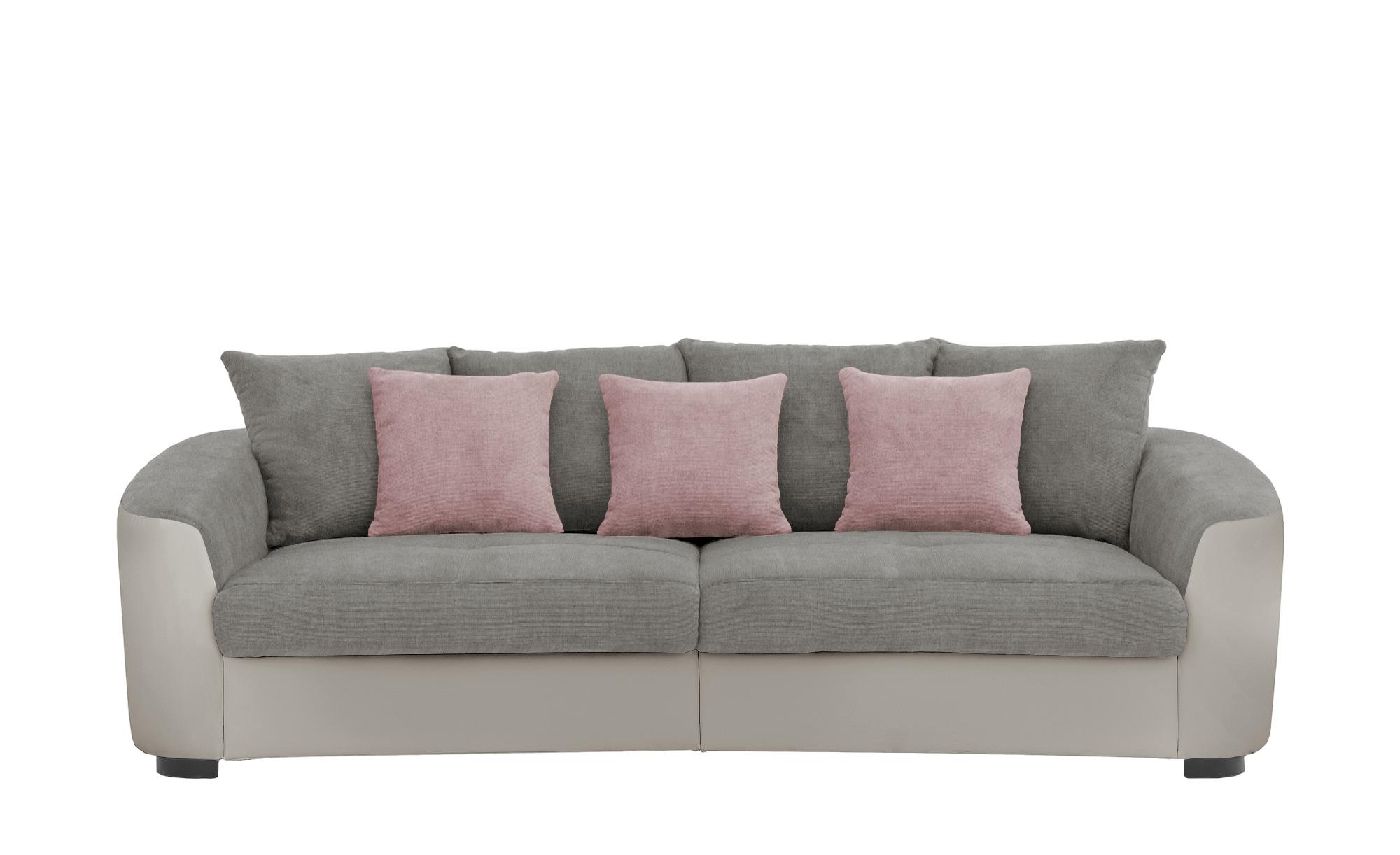 Big Sofa  Cancuun ¦ grau ¦ Maße (cm): B: 242 H: 62 T: 129 Polstermöbel > Sofas > Big-Sofas - Höffner | Wohnzimmer > Sofas & Couches > Bigsofas | Möbel Höffner DE