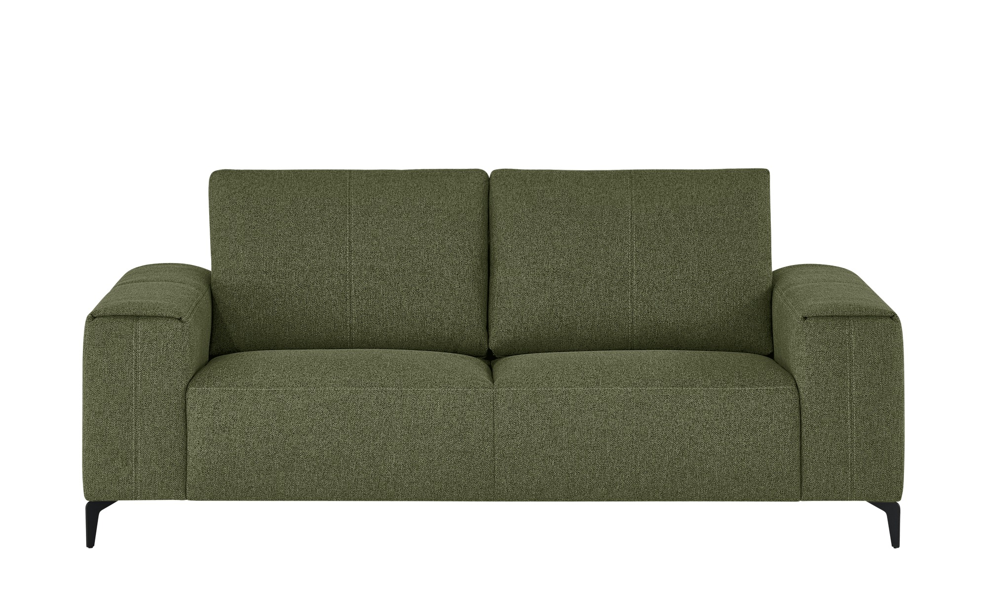 smart Sofa  Gabriela ¦ grün ¦ Maße (cm): B: 202 H: 90 T: 91 Polstermöbel > Sofas > 2-Sitzer - Höffner