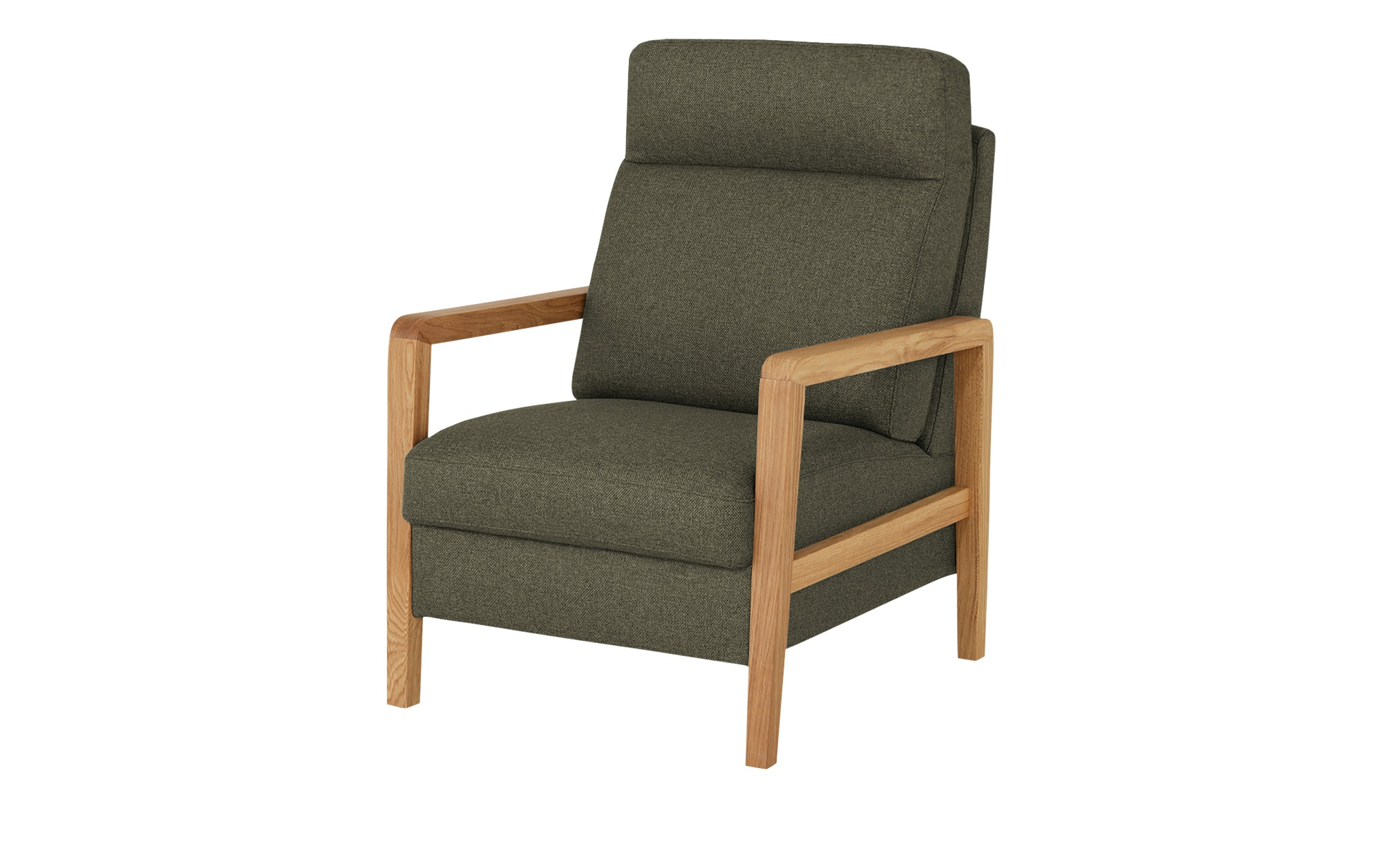 Wohnwert Sessel  Petra ¦ grün ¦ Maße (cm): B: 71 H: 103 T: 89 Polstermöbel > Sessel > Polstersessel - Höffner