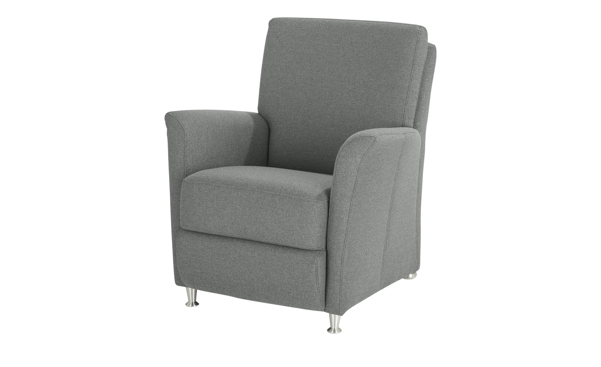 Wohnwert Sessel  Manuela ¦ grau ¦ Maße (cm): B: 76 H: 86 T: 82 Polstermöbel > Sessel > Polstersessel - Höffner