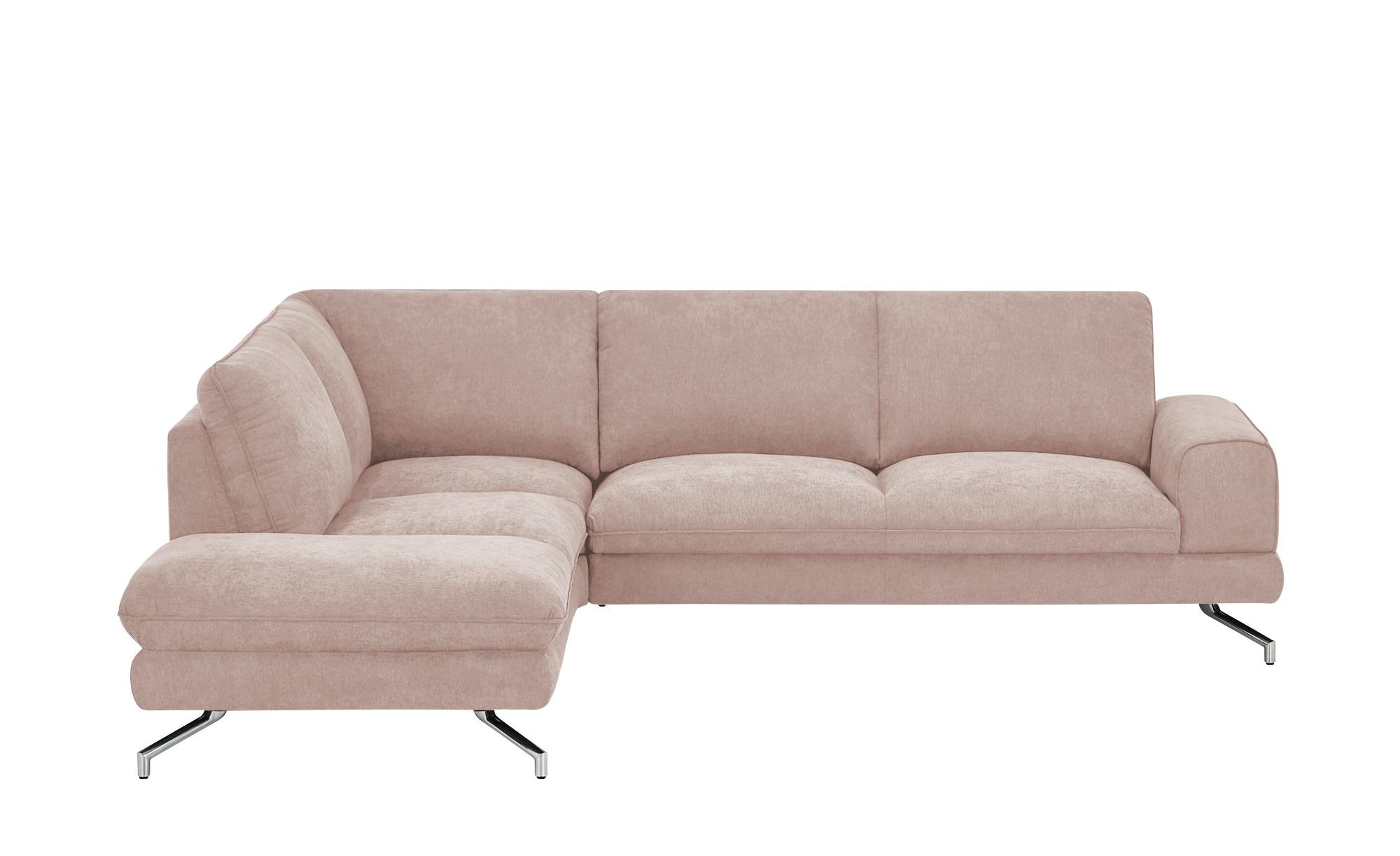 smart Ecksofa  Bonika ¦ rosa/pink ¦ Maße (cm): H: 83 Polstermöbel > Sofas > Ecksofas - Höffner