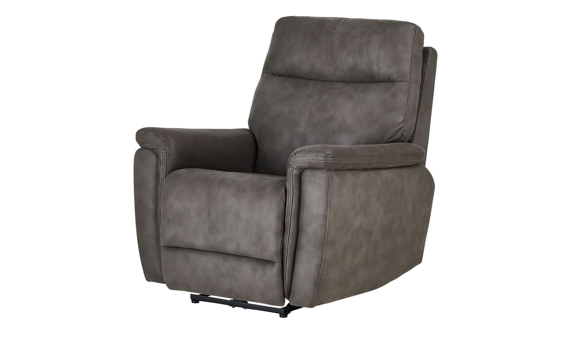 uno Relaxsessel  Dieke ¦ grau ¦ Maße (cm): B: 93 H: 107 T: 100 Polstermöbel > Sessel > Polstersessel - Höffner