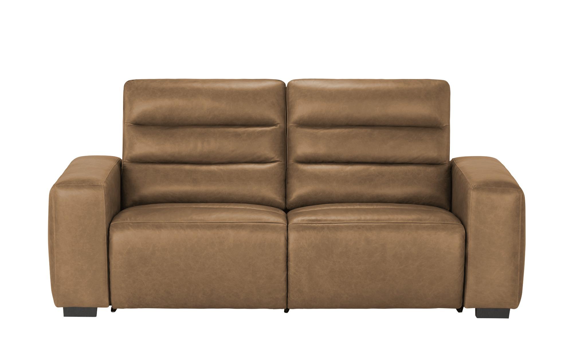 uno Sofa mit Relaxfunktion  Jess ¦ braun ¦ Maße (cm): B: 212 H: 98 T: 94 Polstermöbel > Sofas > Einzelsofas - Höffner