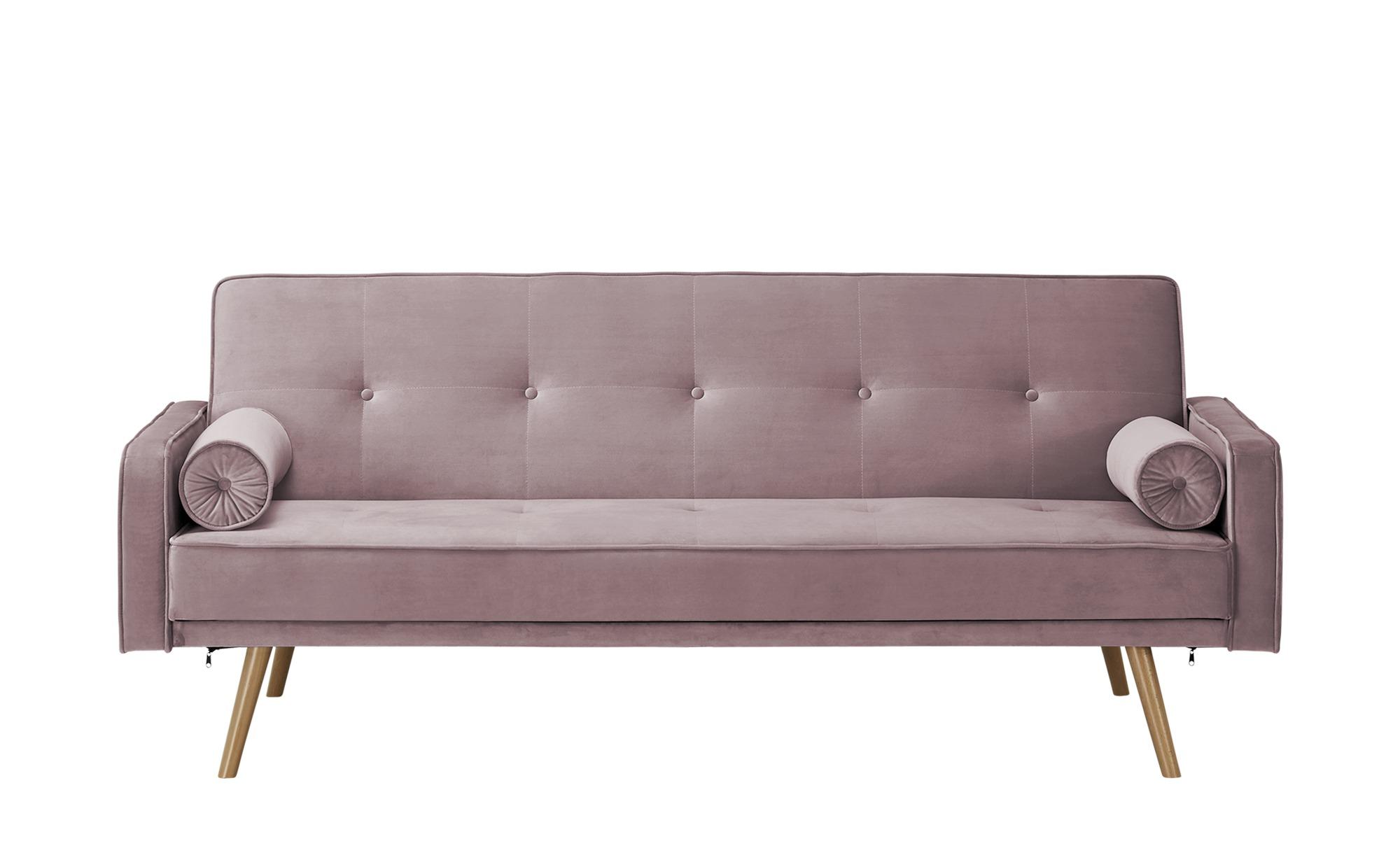 Sofa mit Funktion  Fibi ¦ rosa/pink ¦ Maße (cm): B: 207 H: 92 T: 93 Polstermöbel > Sofas > Einzelsofas - Höffner