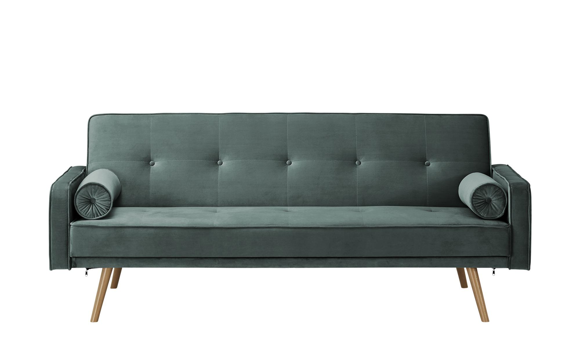 Sofa mit Funktion  Fibi ¦ türkis/petrol ¦ Maße (cm): B: 207 H: 92 T: 93 Polstermöbel > Sofas > Einzelsofas - Höffner
