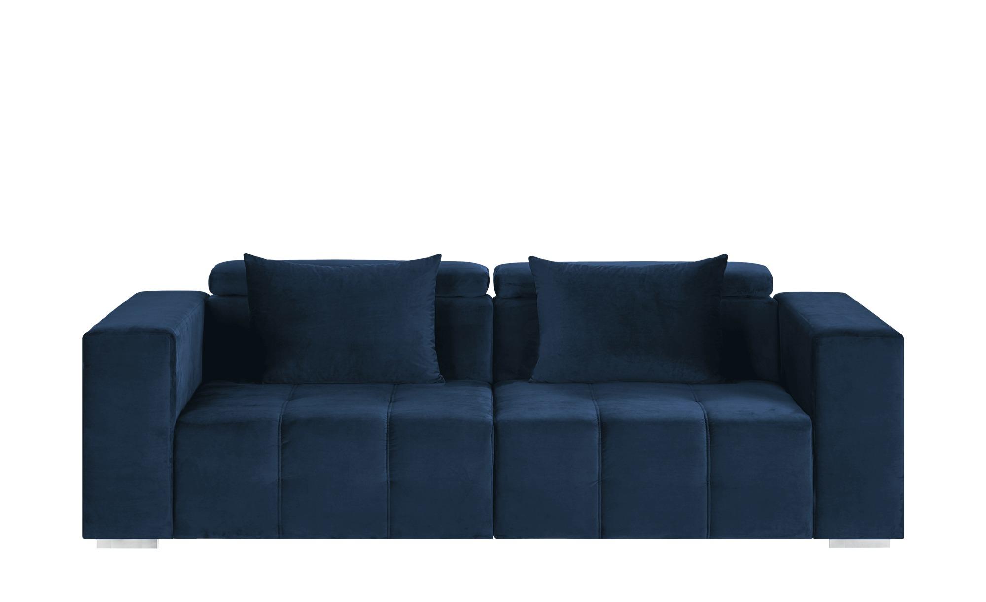 Big Sofa  Vila ¦ blau ¦ Maße (cm): B: 261 H: 79 T: 120 Polstermöbel > Sofas > Big-Sofas - Höffner