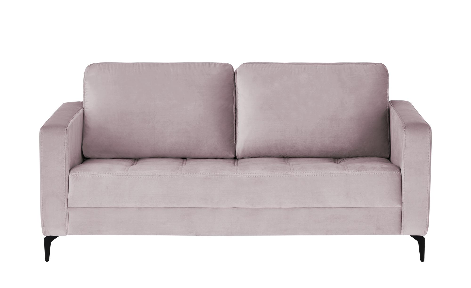 smart Sofa  Gesa ¦ rosa/pink ¦ Maße (cm): B: 178 H: 83 T: 91 Polstermöbel > Sofas > 2-Sitzer - Höffner