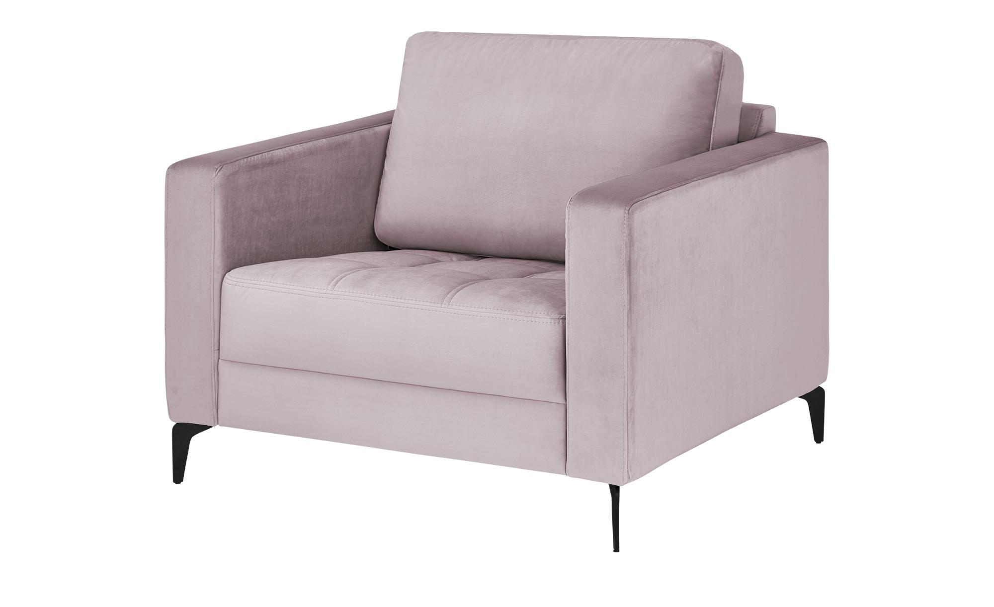 smart Sessel  Gesa ¦ rosa/pink ¦ Maße (cm): B: 102 H: 83 T: 91 Polstermöbel > Sessel > Polstersessel - Höffner