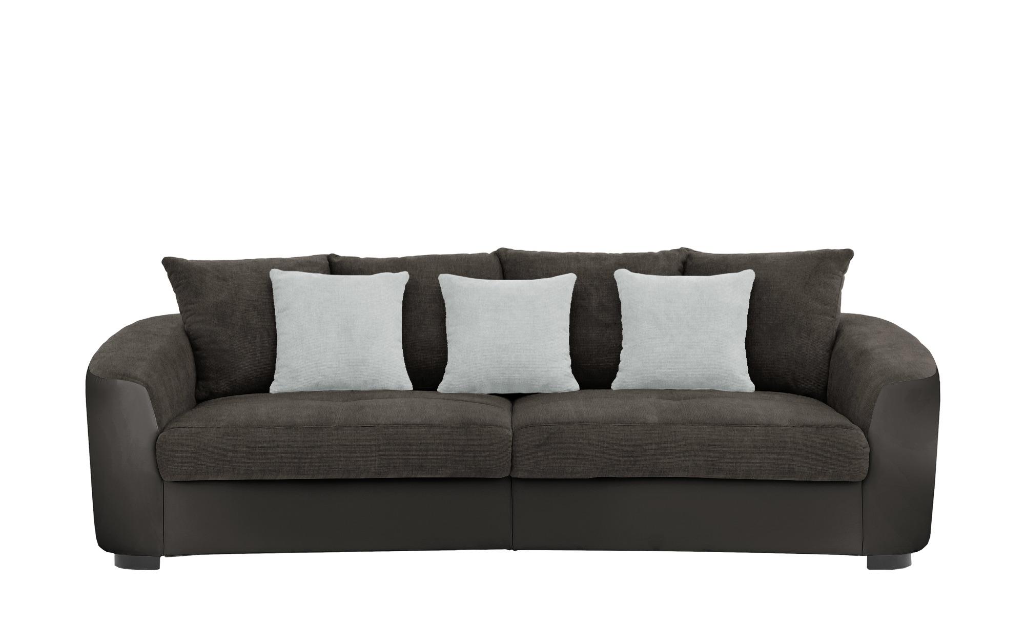 Big Sofa  Cancuun ¦ braun ¦ Maße (cm): B: 242 H: 62 T: 129 Polstermöbel > Sofas > Big-Sofas - Höffner