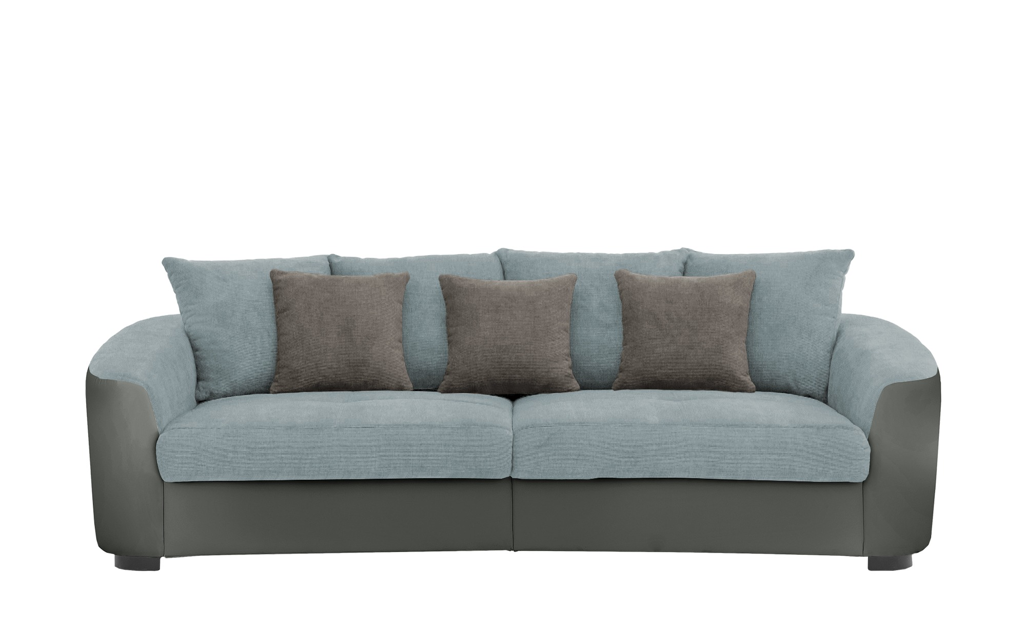 Big Sofa  Cancuun ¦ blau ¦ Maße (cm): B: 242 H: 62 T: 129 Polstermöbel > Sofas > Big-Sofas - Höffner
