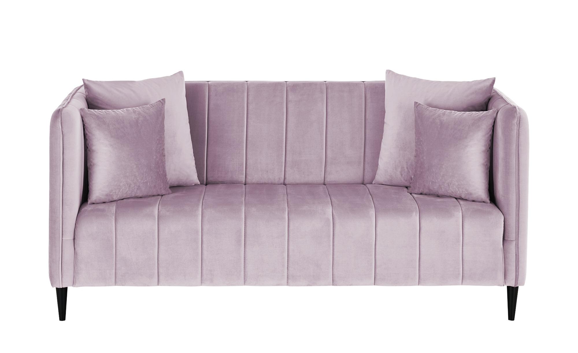 smart Sofa  Sara ¦ rosa/pink ¦ Maße (cm): B: 178 H: 82 T: 90 Polstermöbel > Sofas > 2-Sitzer - Höffner