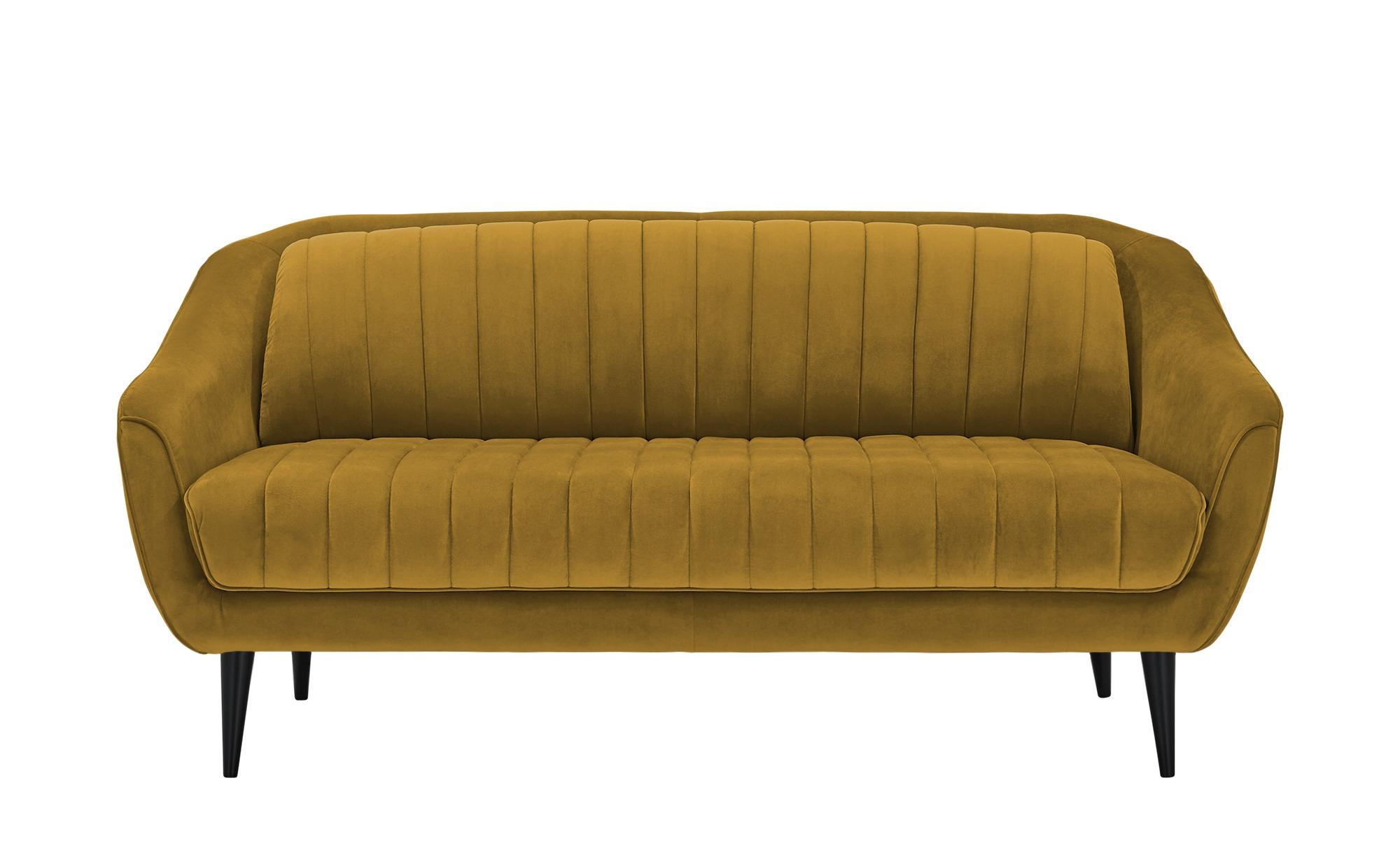 Sofa  Sophia ¦ gelb ¦ Maße (cm): B: 190 H: 83 T: 90 Polstermöbel > Sofas > Einzelsofas - Höffner