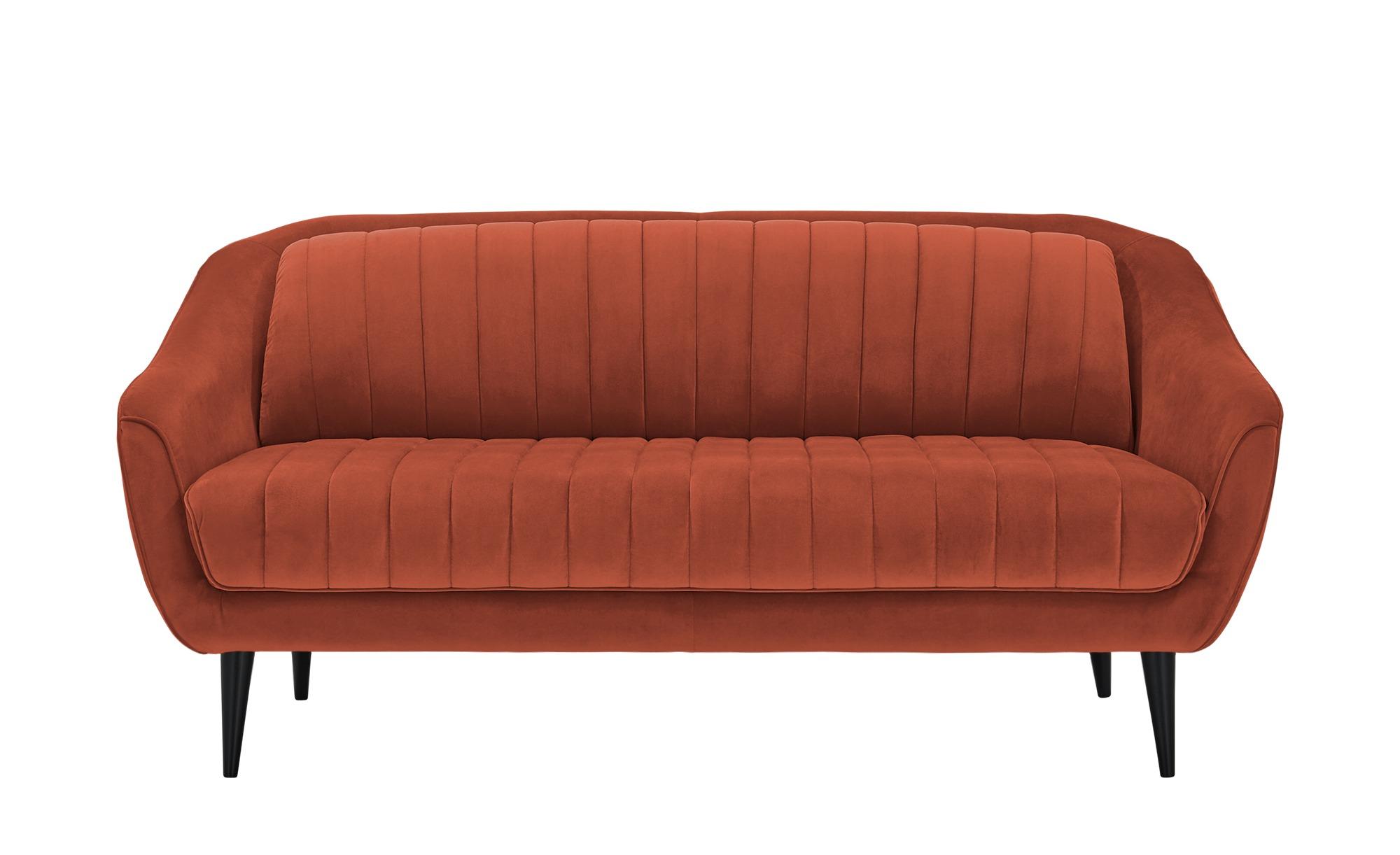 Sofa  Sophia ¦ orange ¦ Maße (cm): B: 190 H: 83 T: 90 Polstermöbel > Sofas > Einzelsofas - Höffner