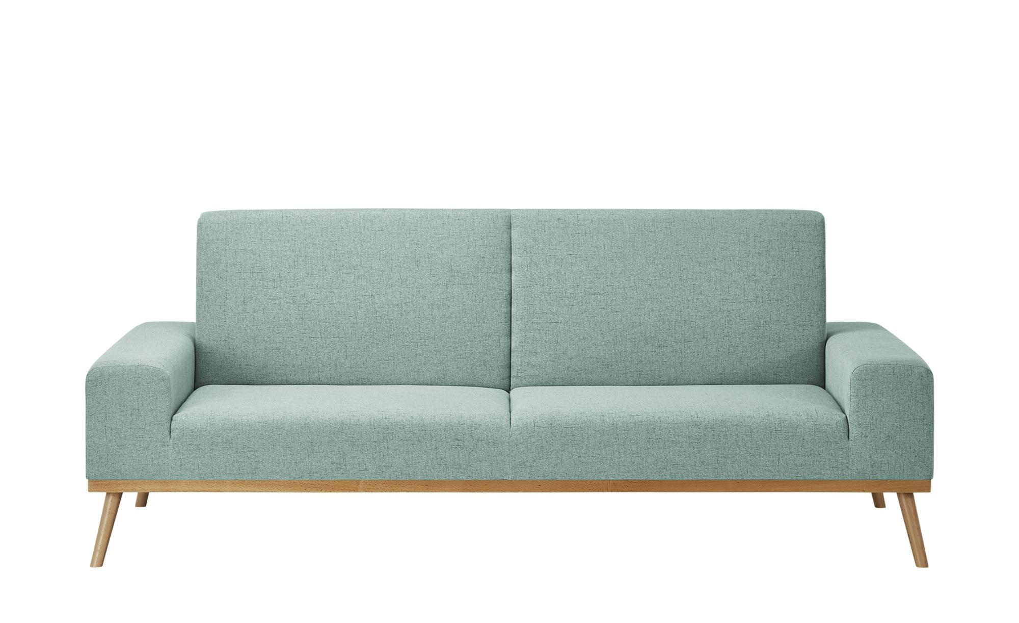 smart Sofa mit Funktion  Alis ¦ blau ¦ Maße (cm): B: 223 H: 90 T: 100 Polstermöbel > Sofas > Einzelsofas - Höffner