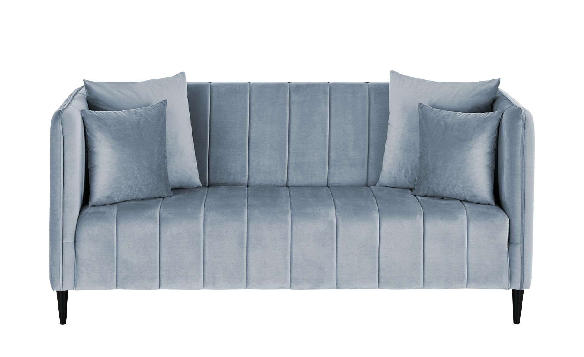 smart Sofa  Sara ¦ blau ¦ Maße (cm): B: 178 H: 82 T: 90 Polstermöbel > Sofas > 2-Sitzer - Höffner