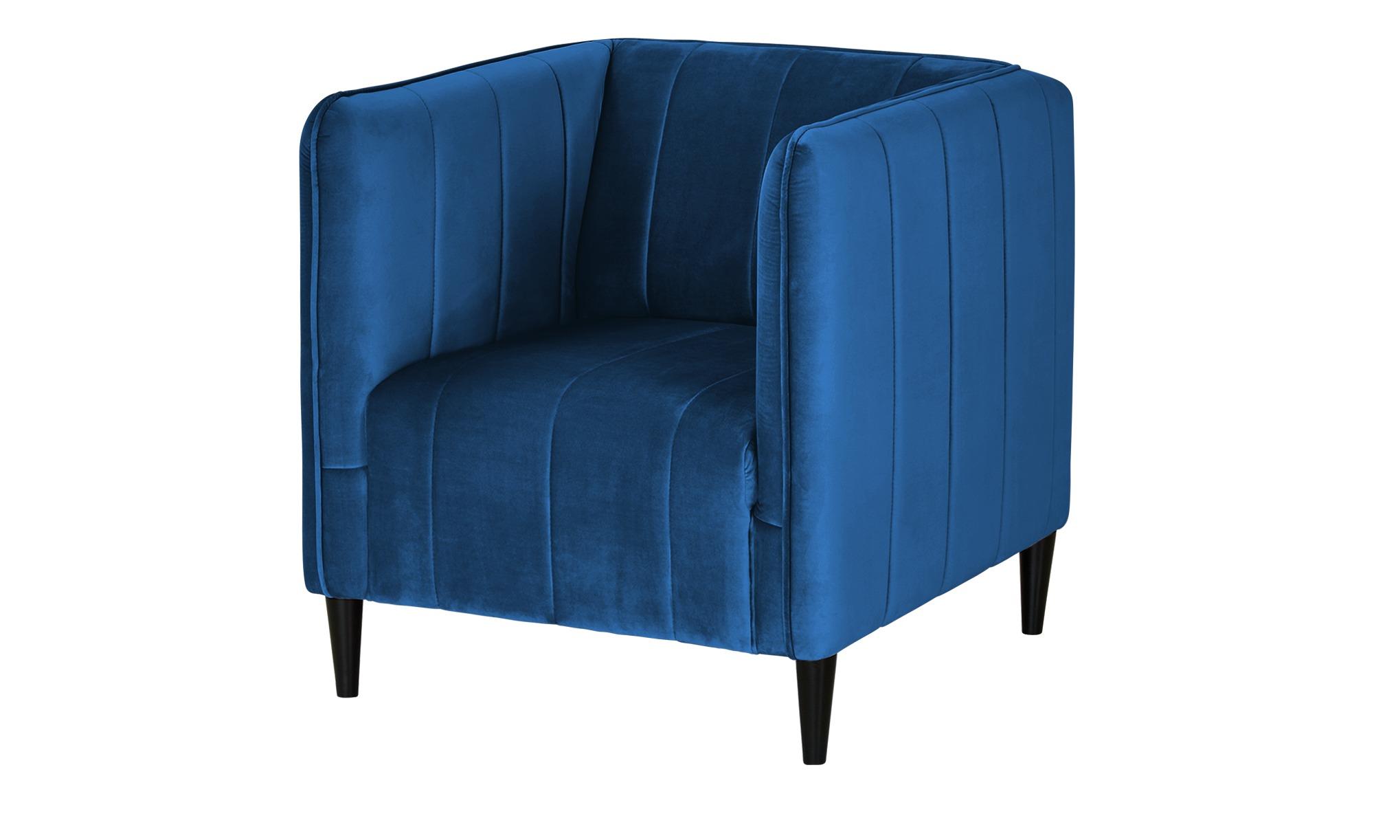smart Sessel  Sara ¦ blau ¦ Maße (cm): B: 72 H: 74 T: 76 Polstermöbel > Sessel > Polstersessel - Höffner