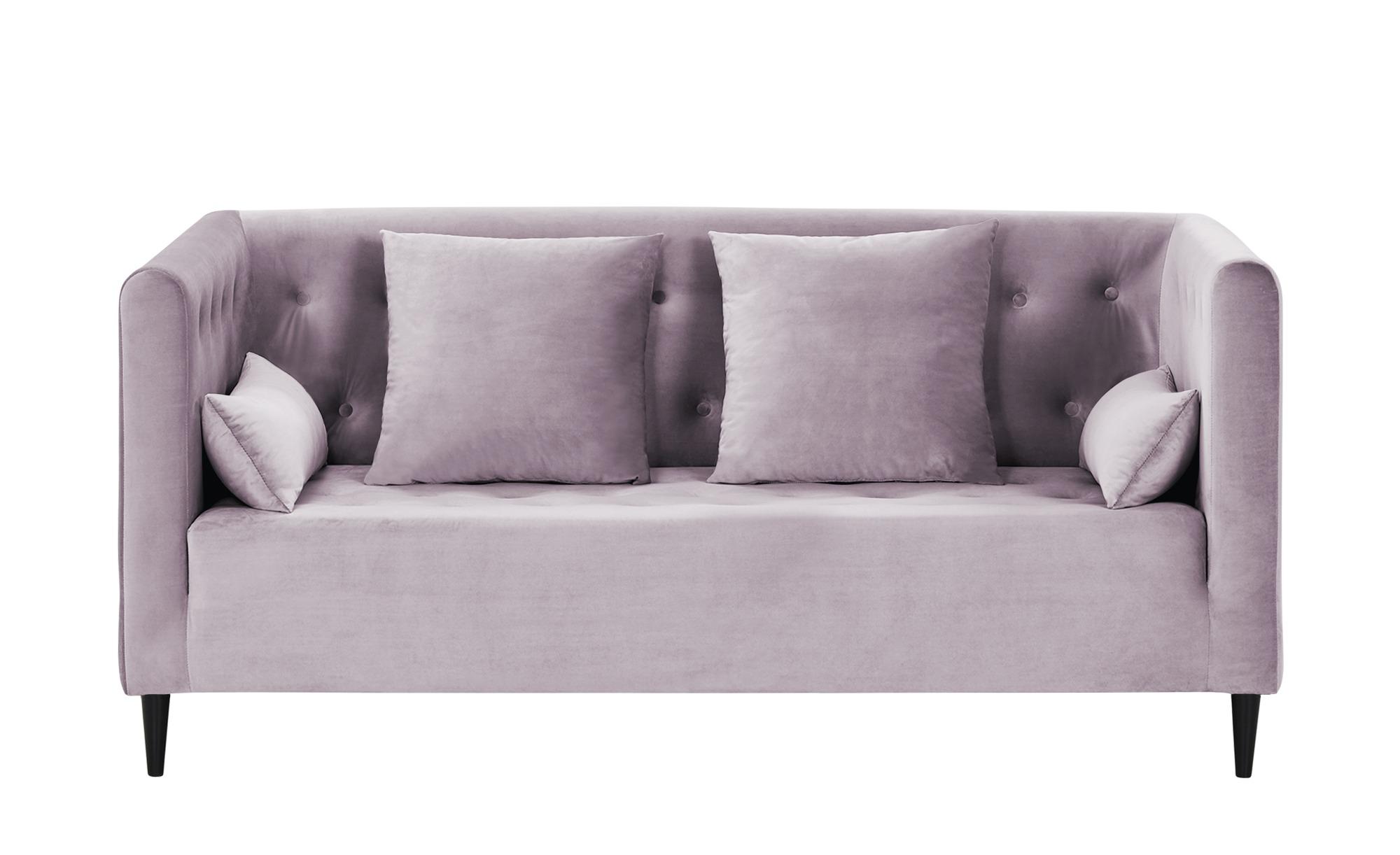 smart Sofa  Neea ¦ rosa/pink ¦ Maße (cm): B: 181 H: 82 T: 88 Polstermöbel > Sofas > 2-Sitzer - Höffner