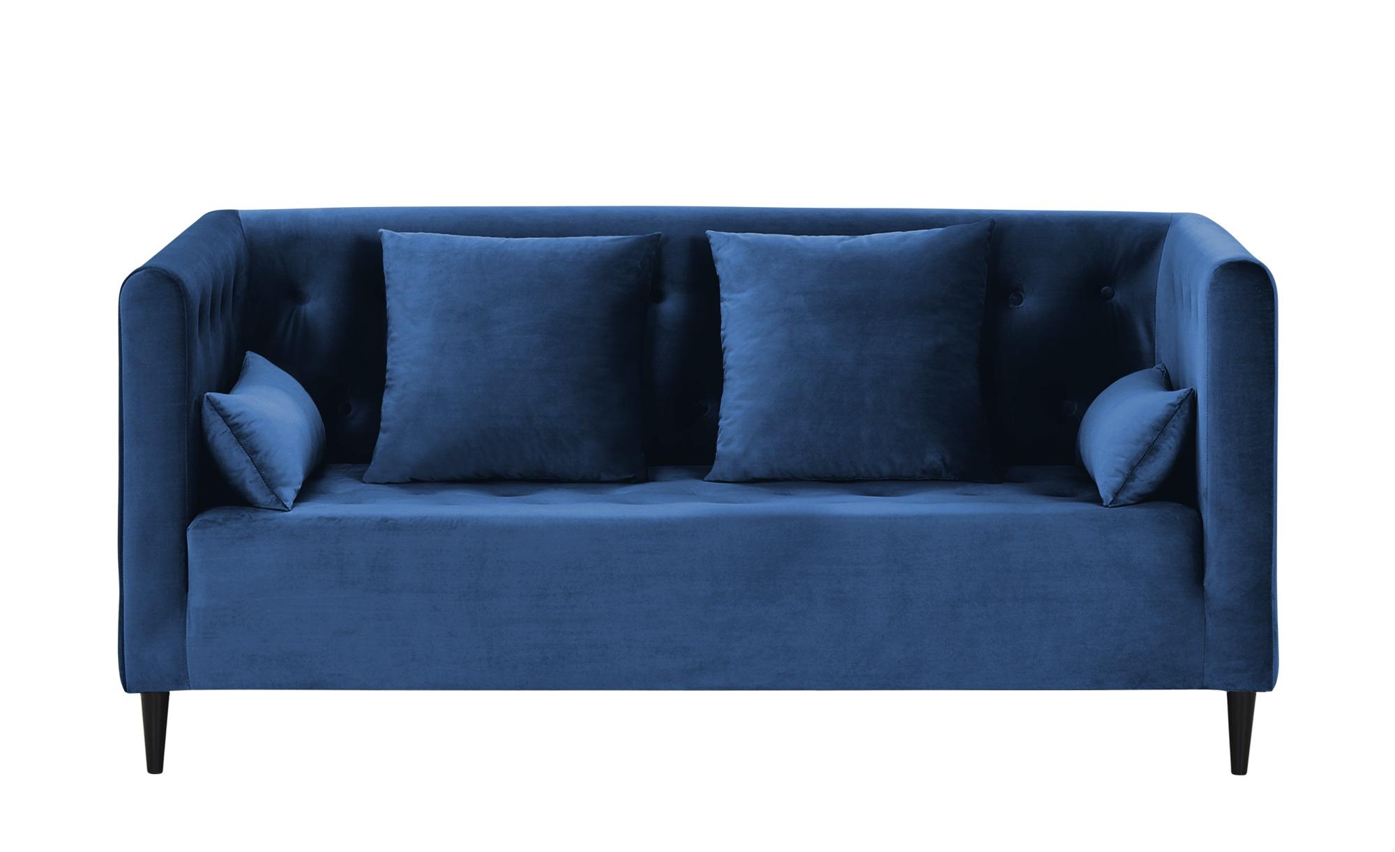 smart Sofa  Neea ¦ blau ¦ Maße (cm): B: 181 H: 82 T: 88 Polstermöbel > Sofas > 2-Sitzer - Höffner