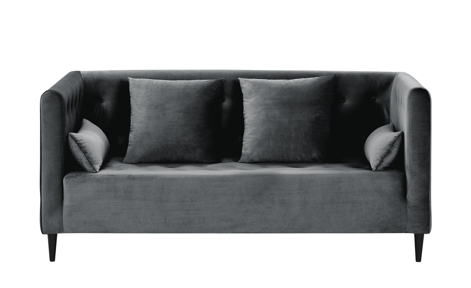 smart Sofa  Neea ¦ grau ¦ Maße (cm): B: 181 H: 82 T: 88 Polstermöbel > Sofas > 2-Sitzer - Höffner