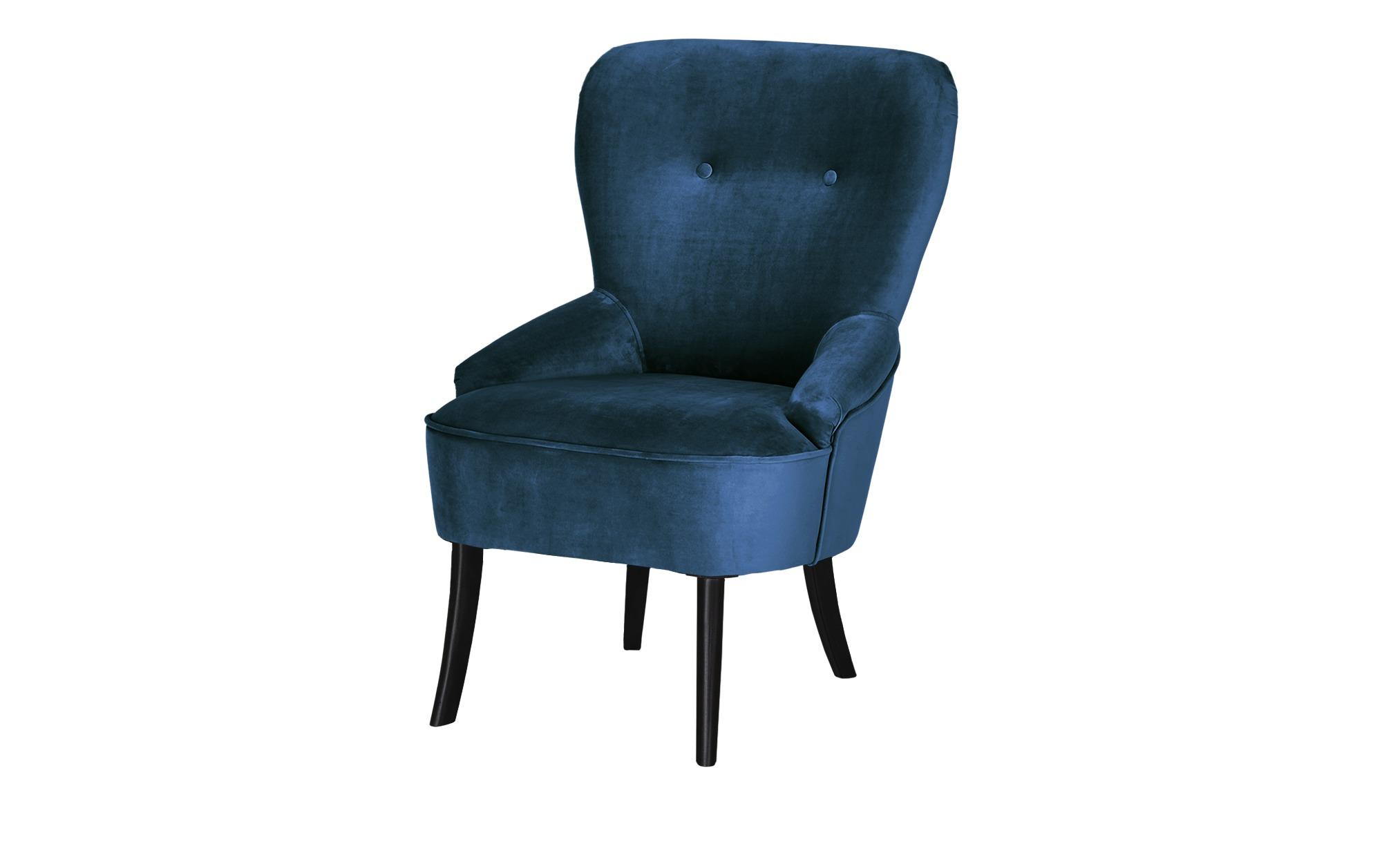 smart Sessel  Renia ¦ blau ¦ Maße (cm): B: 59 H: 88 T: 64 Polstermöbel > Sessel > Polstersessel - Höffner