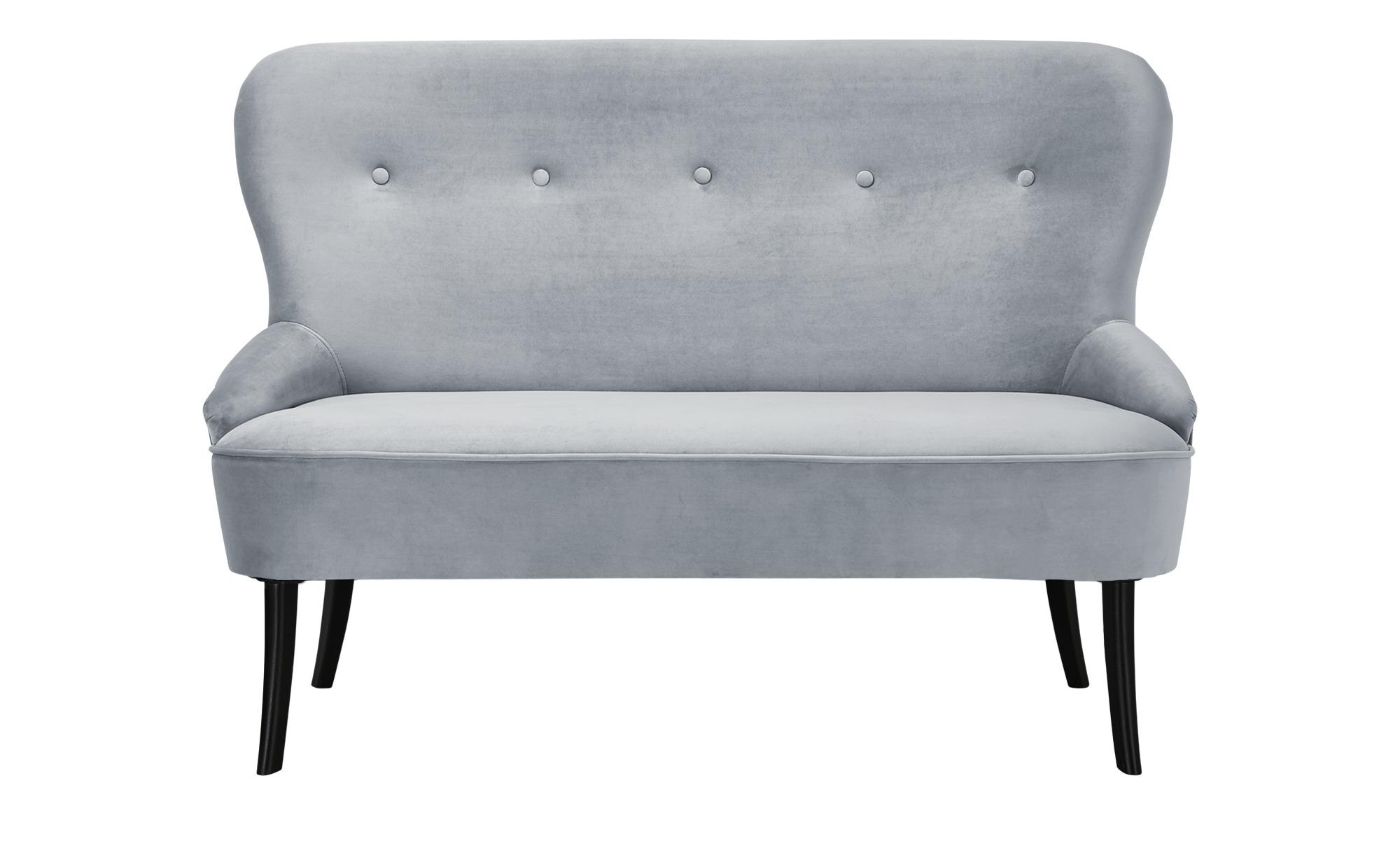 smart Sofa  Renia ¦ blau ¦ Maße (cm): B: 130 H: 89 T: 72 Polstermöbel > Sofas > 2-Sitzer - Höffner