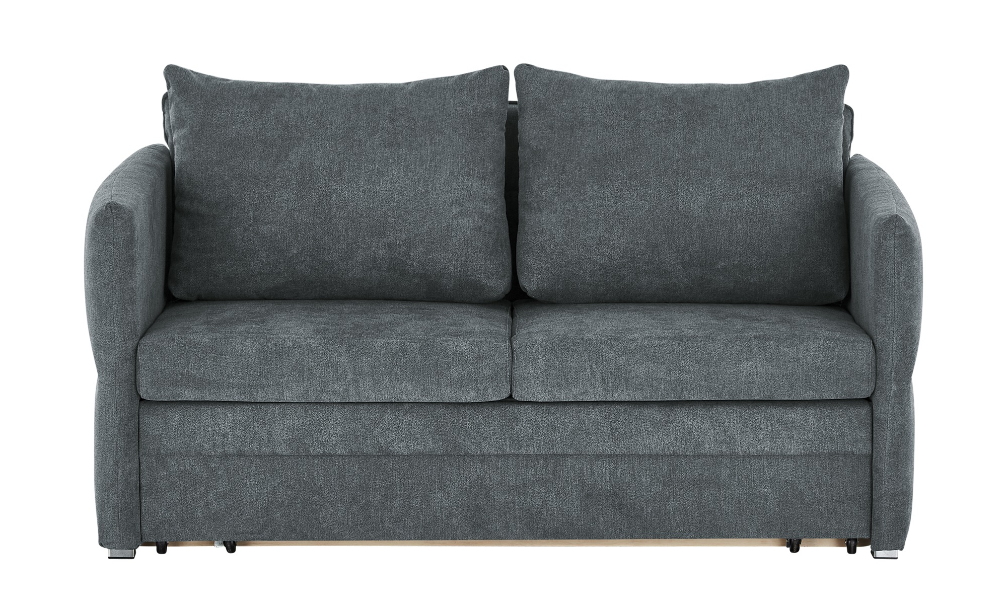 Schlafsofa  Lennox ¦ grau ¦ Maße (cm): B: 160 H: 88 T: 91 Polstermöbel > Sofas > 2-Sitzer - Höffner