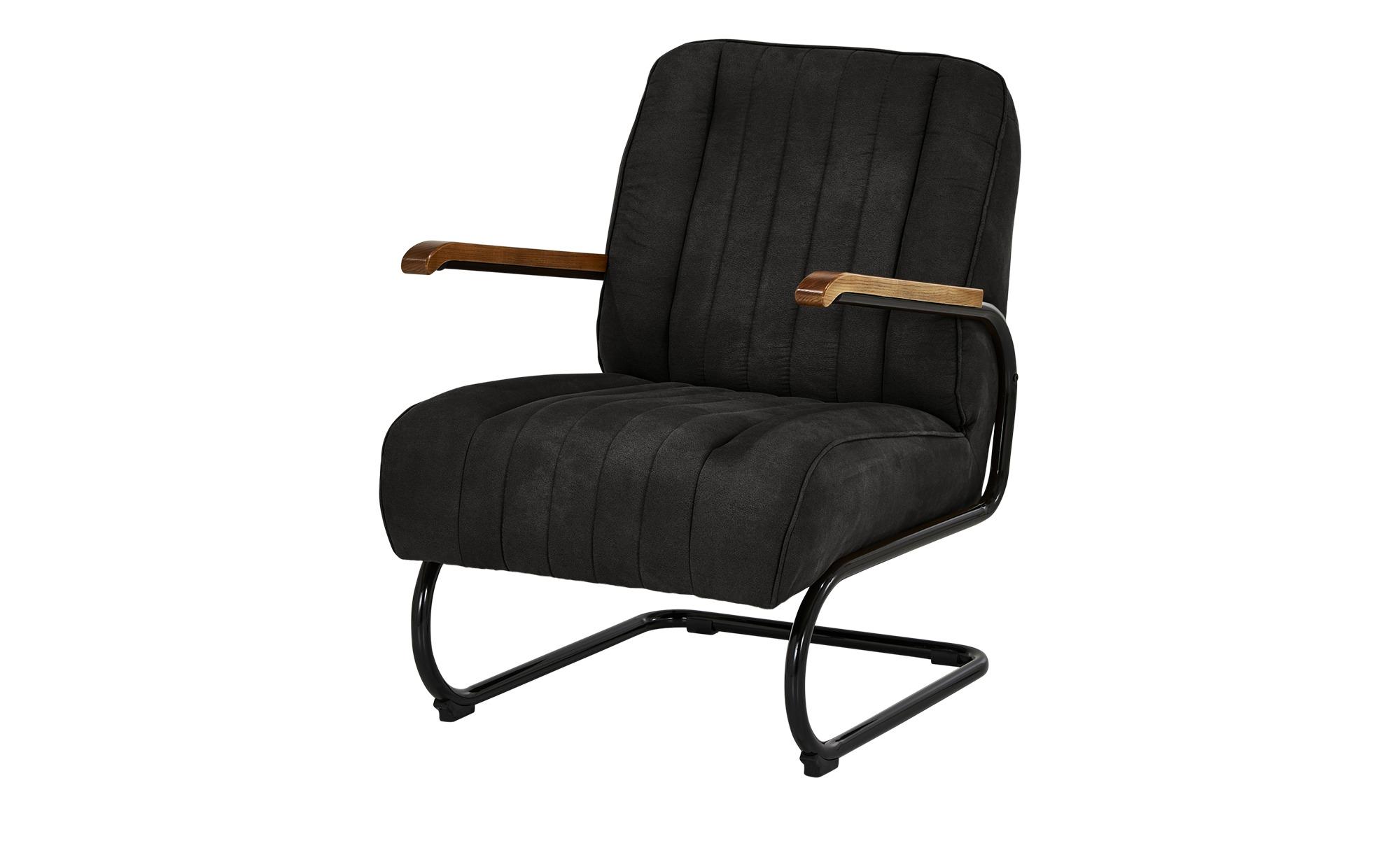Sessel  Rachel ¦ grau ¦ Maße (cm): B: 67 H: 100 T: 83 Polstermöbel > Sessel > Polstersessel - Höffner