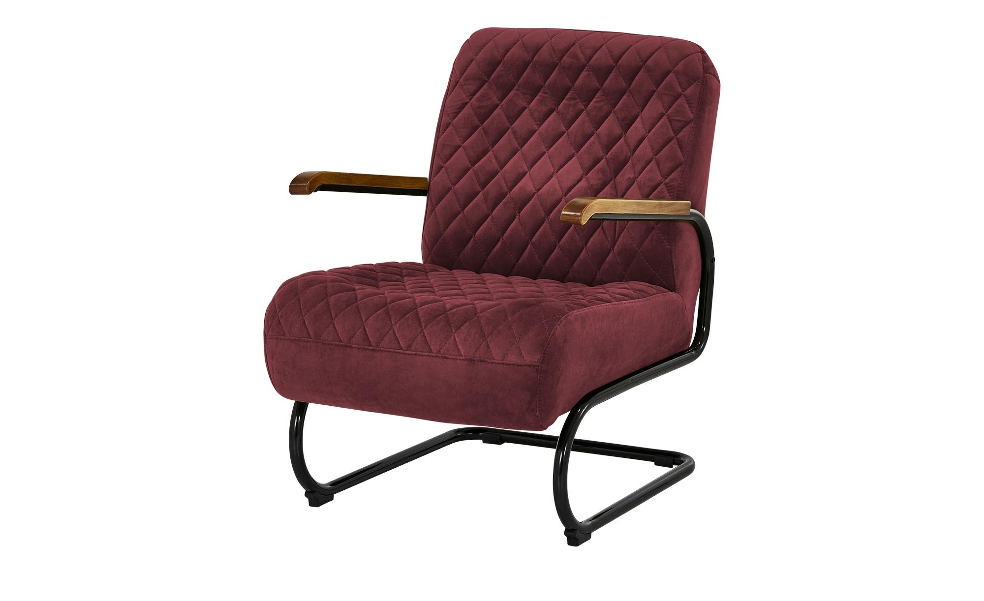 Sessel  Trudi ¦ rot ¦ Maße (cm): B: 67 H: 100 T: 83 Polstermöbel > Sessel > Polstersessel - Höffner