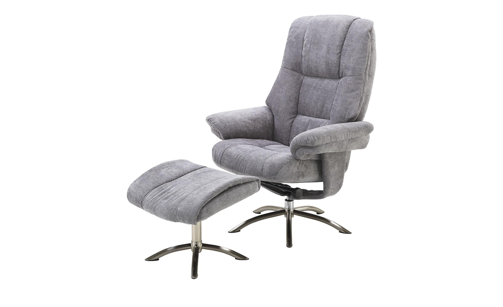 Relaxsessel  Gina ¦ grau ¦ Maße (cm): B: 78 H: 114 T: 86 Polstermöbel > Sessel > Fernsehsessel - Höffner