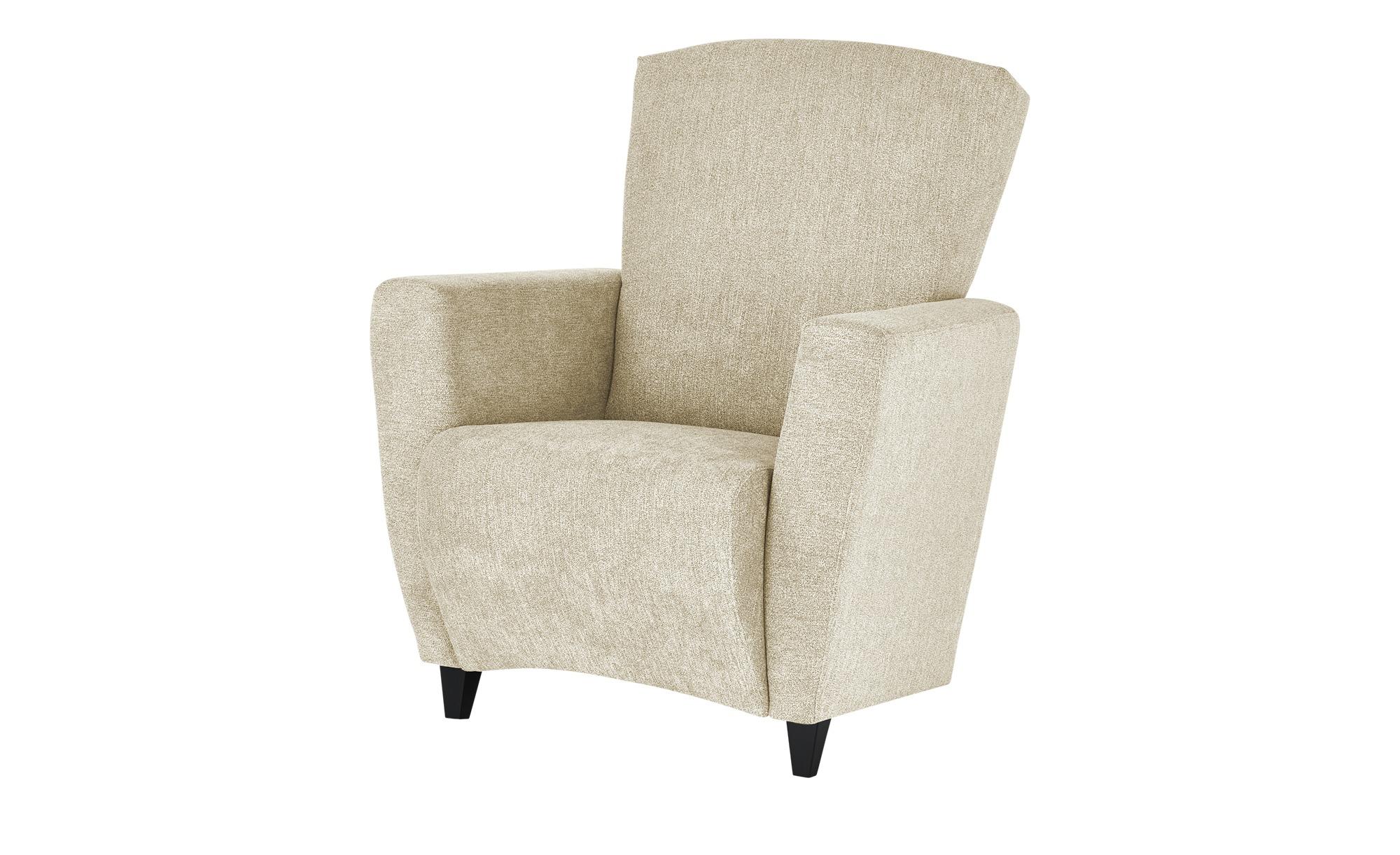 smart Sessel  Alma ¦ beige ¦ Maße (cm): B: 84 H: 94 T: 80 Polstermöbel > Sessel > Polstersessel - Höffner