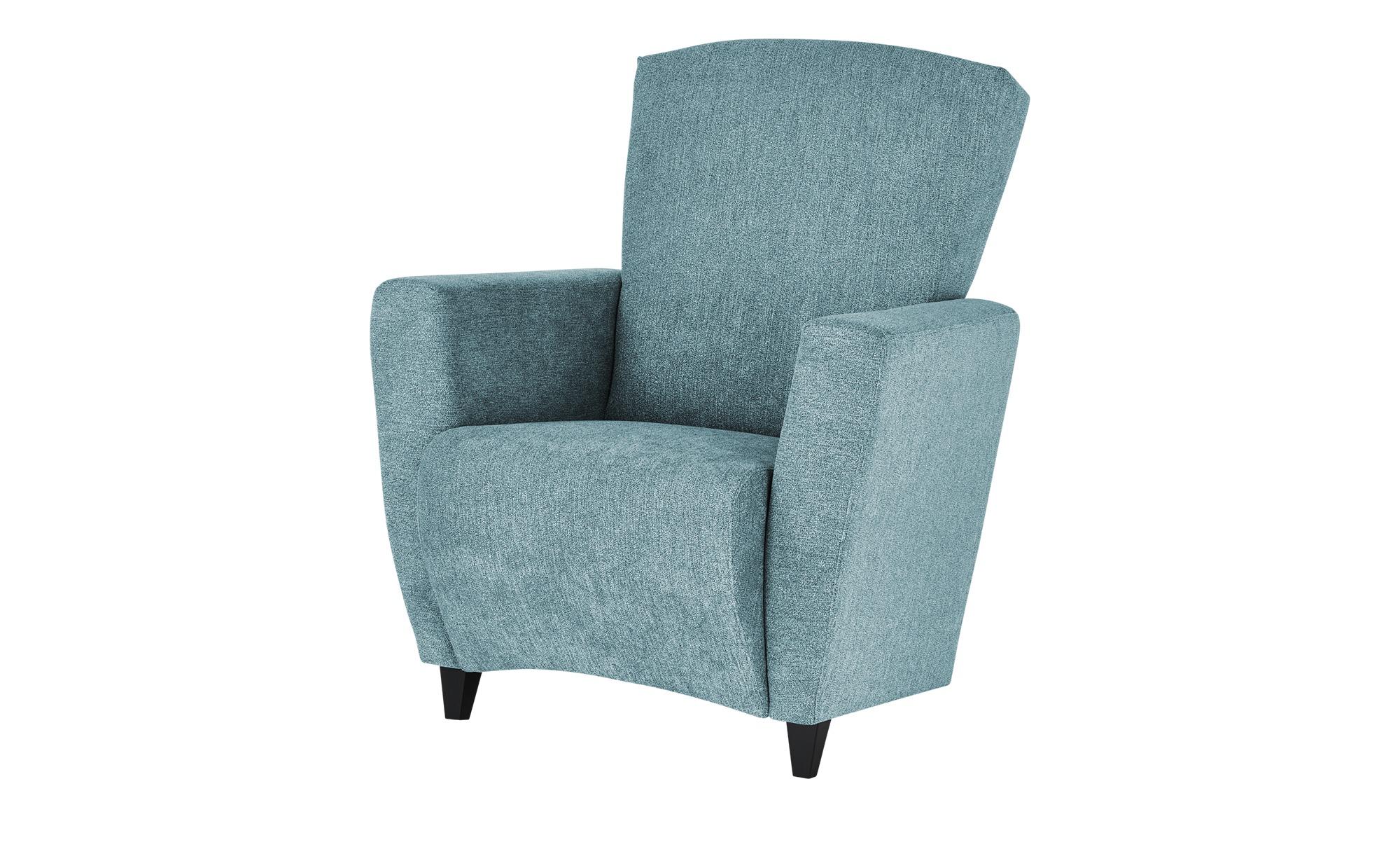 smart Sessel  Alma ¦ blau ¦ Maße (cm): B: 84 H: 94 T: 80 Polstermöbel > Sessel > Polstersessel - Höffner