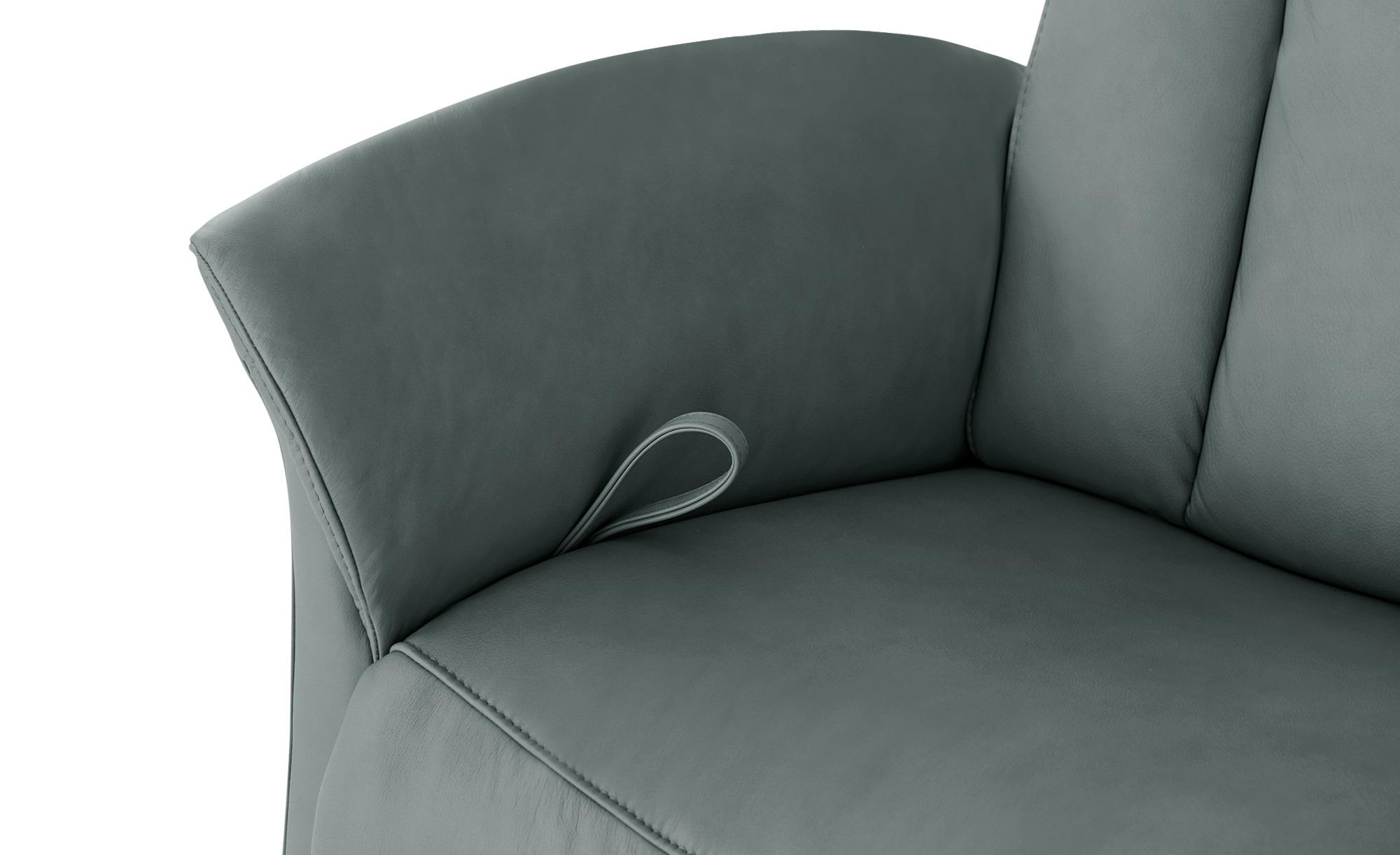 himolla Sessel mit Relaxfunktion  4010 ¦ grau ¦ Maße (cm): B: 87 H: 108 T: 88 Polstermöbel > Sessel > Ledersessel - Höffner