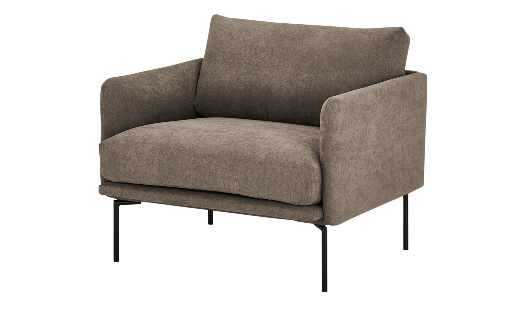 finya Sessel  Nora ¦ braun ¦ Maße (cm): B: 91 H: 78 T: 86 Polstermöbel > Sessel > Polstersessel - Höffner