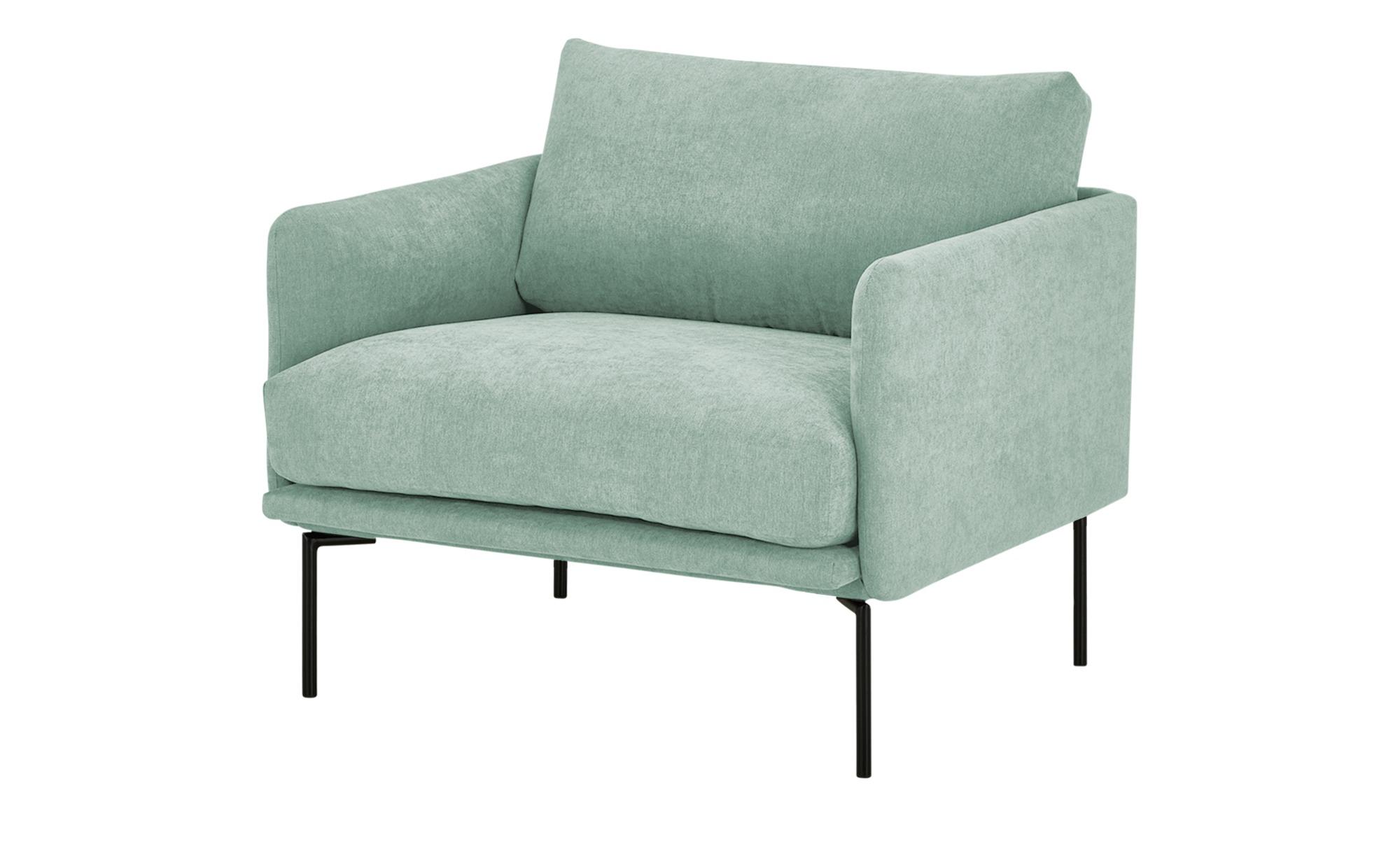 finya Sessel  Nora ¦ grün ¦ Maße (cm): B: 91 H: 78 T: 86 Polstermöbel > Sessel > Polstersessel - Höffner