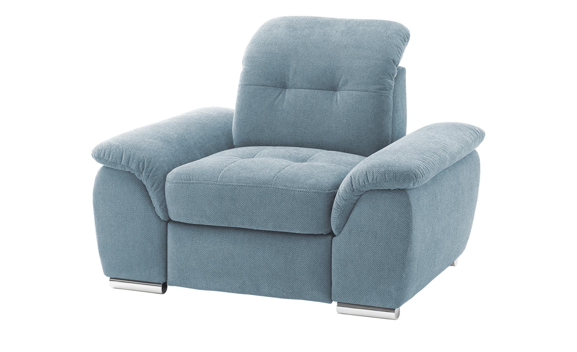 Sessel   Halona ¦ blau ¦ Maße (cm): B: 116 H: 89 T: 109 Polstermöbel > Sessel > Polstersessel - Höffner
