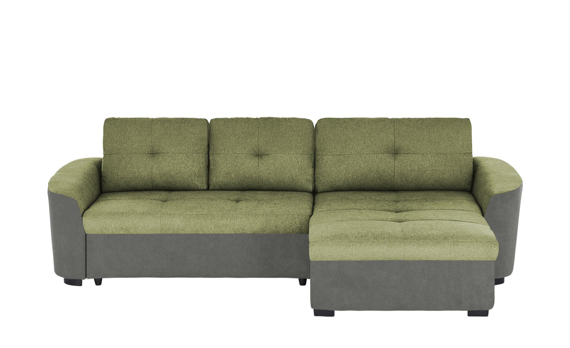 Ecksofa  Tanja ¦ grün ¦ Maße (cm): H: 84 Polstermöbel > Sofas > Ecksofas - Höffner