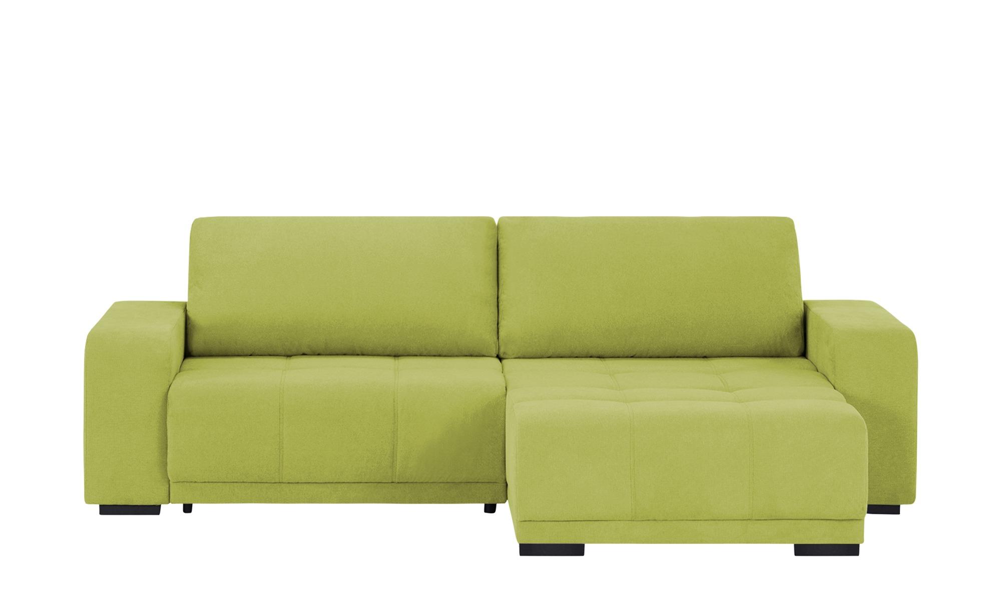 Ecksofa  Mia ¦ grün ¦ Maße (cm): H: 73 Polstermöbel > Sofas > Ecksofas - Höffner